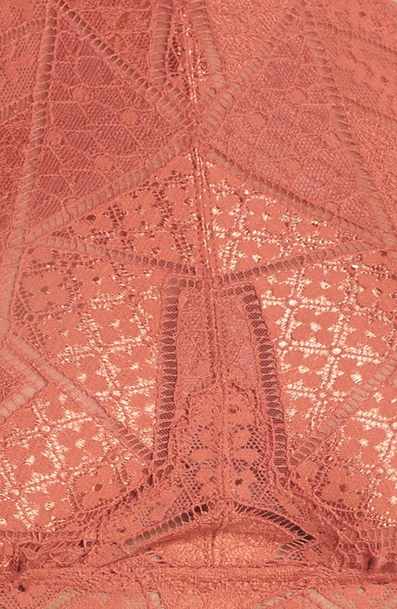 Intimately FP Moonstruck Lace Longline Halter Bralette,                             Alternate thumbnail 16, color,