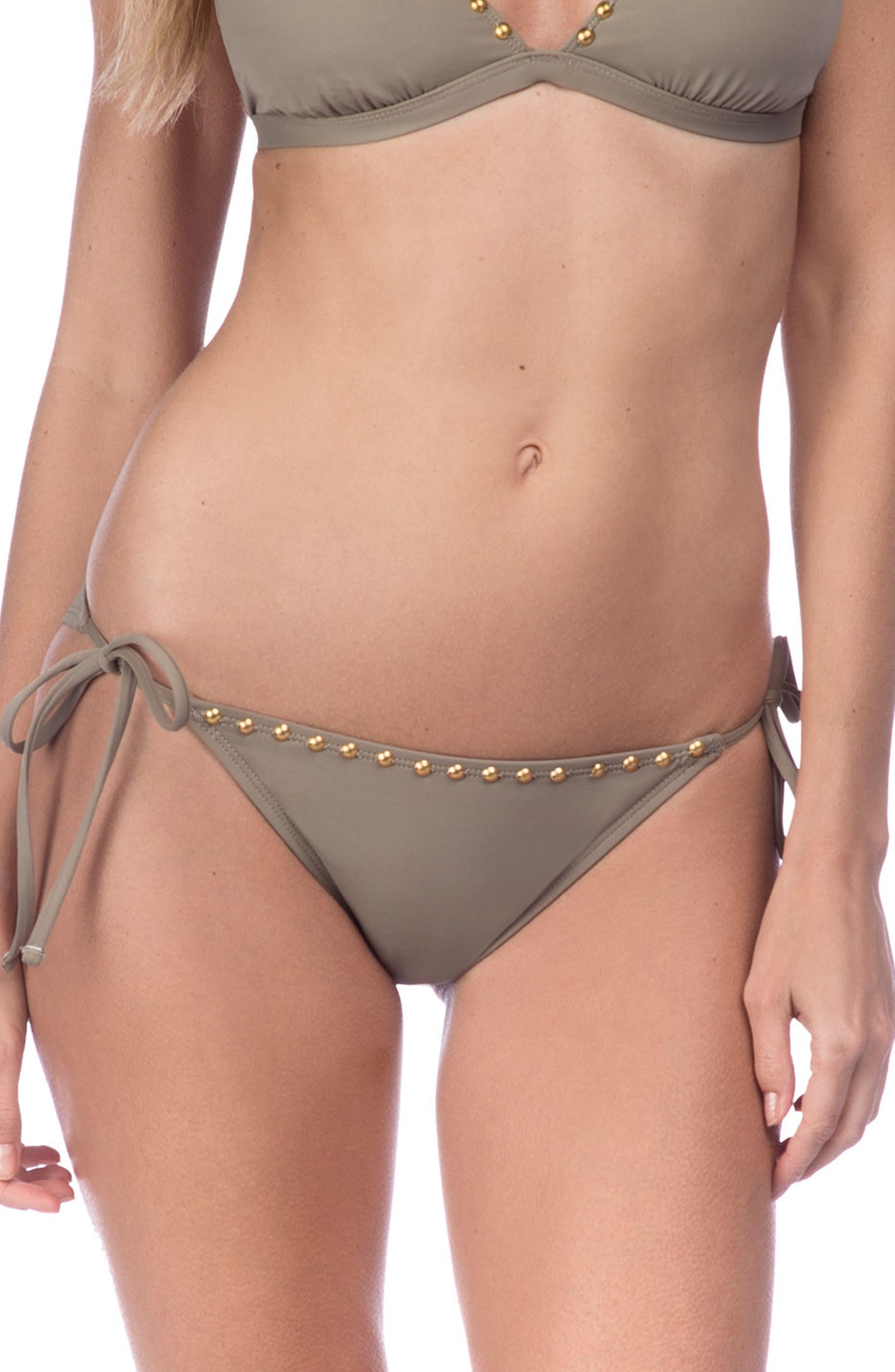 Deco Side Tie Bikini Bottoms,                         Main,                         color, 020
