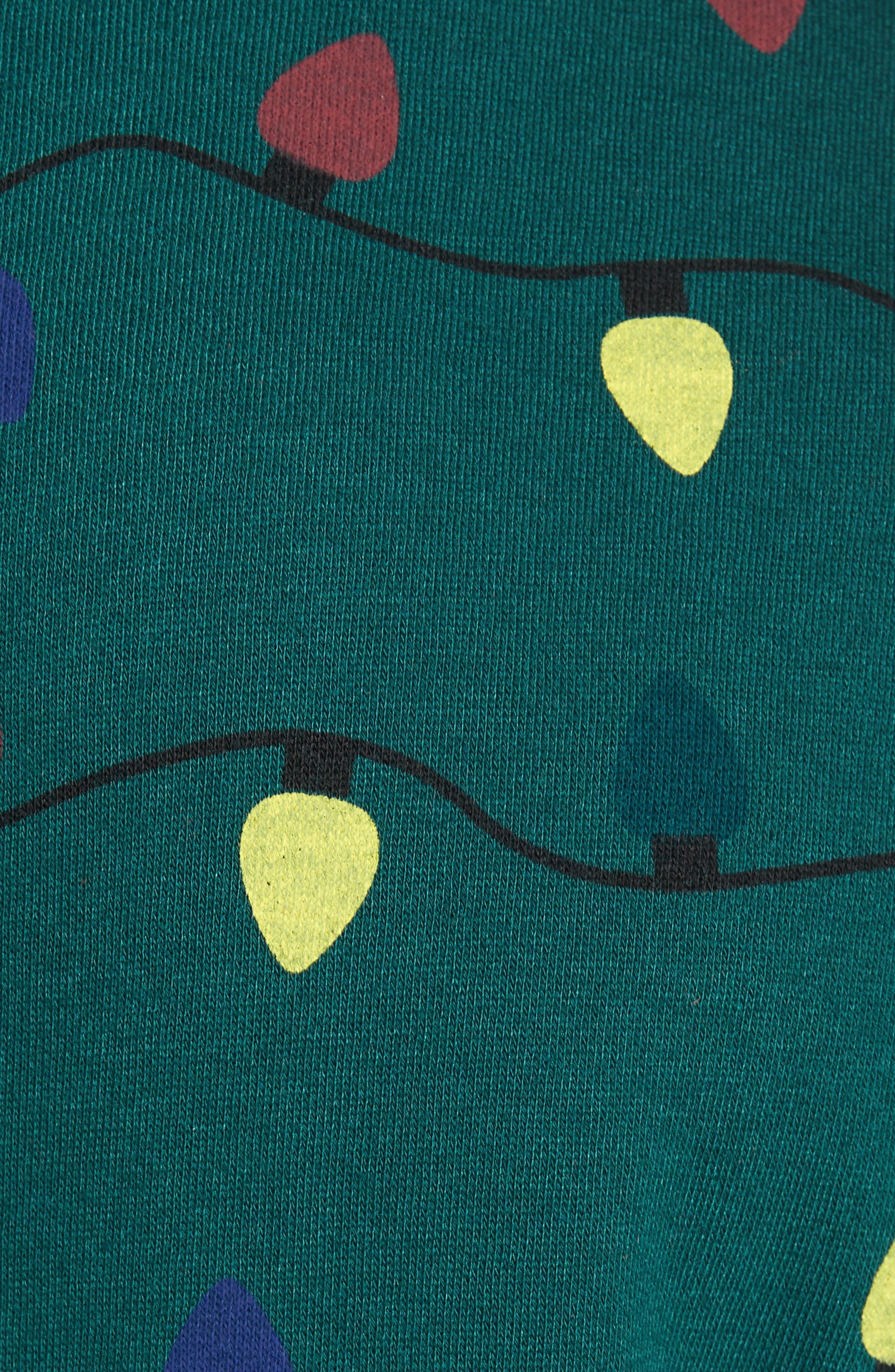 Fleece One-Piece Pajamas,                             Alternate thumbnail 26, color,
