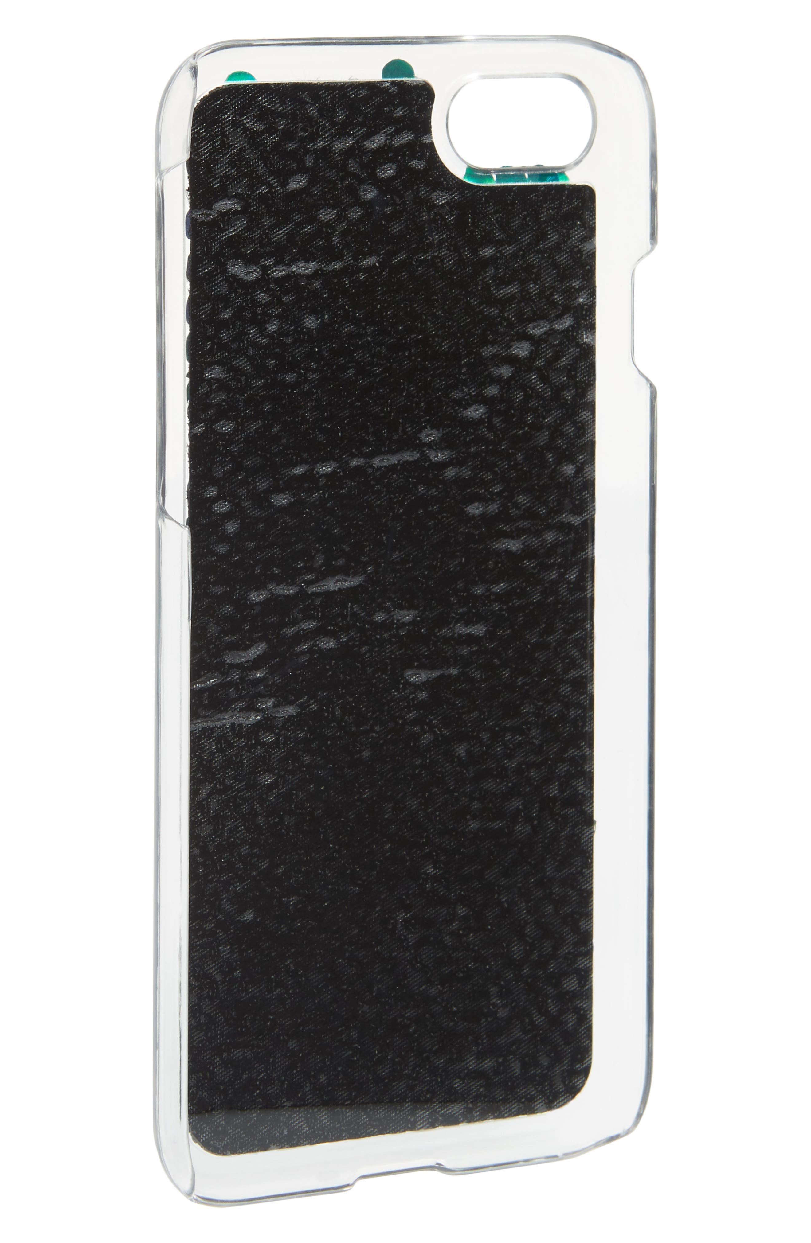 Sequin iPhone 7/8 Case,                             Alternate thumbnail 2, color,