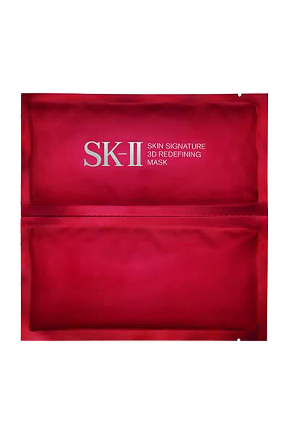 'Skin Signature' 3D Redefining Mask,                             Main thumbnail 1, color,                             000