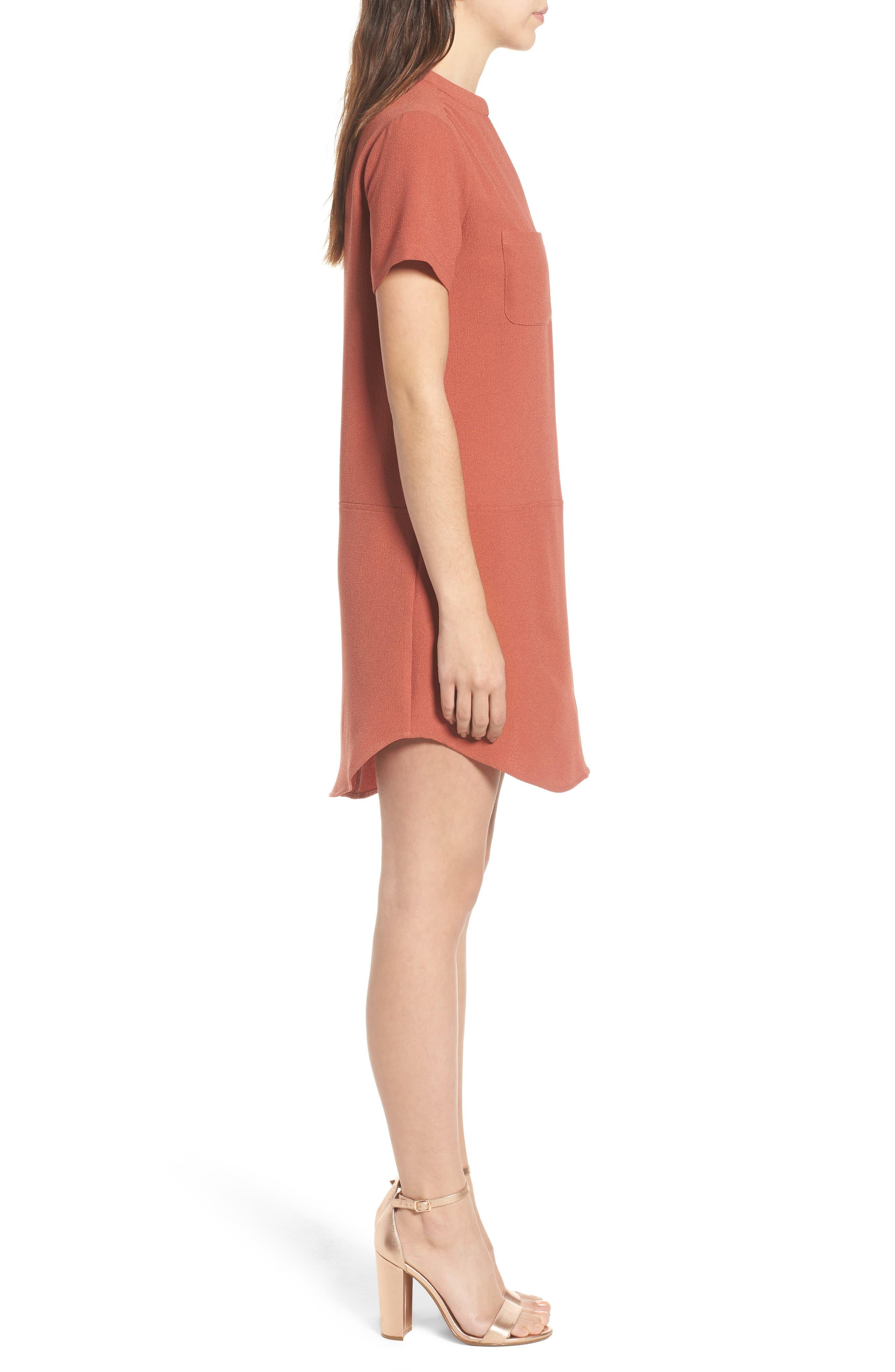 Hailey Crepe Dress,                             Alternate thumbnail 80, color,