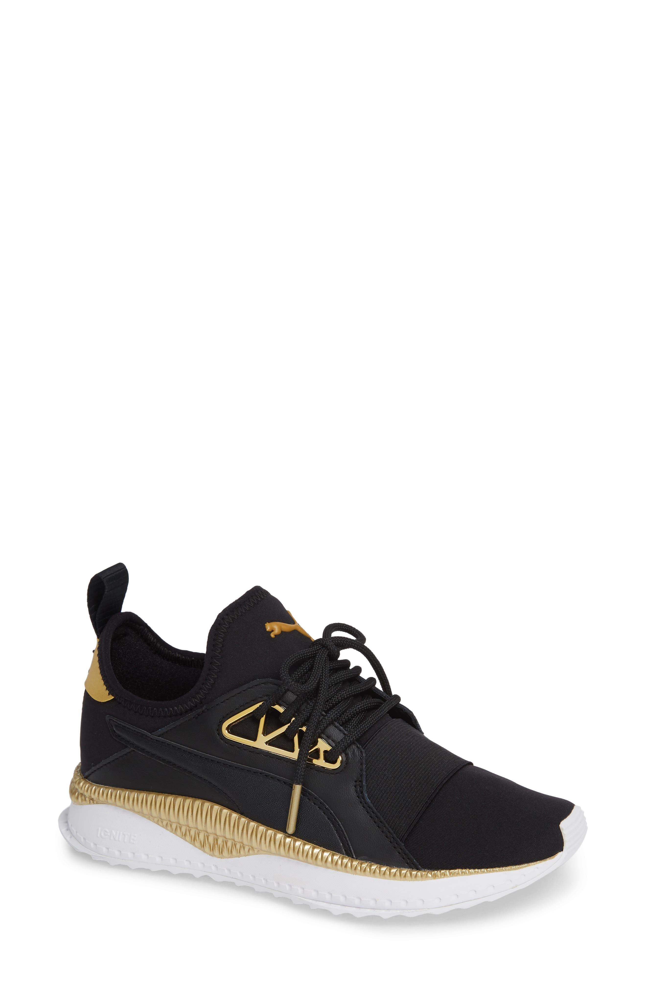 TSUGI Apex Jewel Sneaker,                             Main thumbnail 1, color,                             PUMA BLACK/ PUMA BLACK
