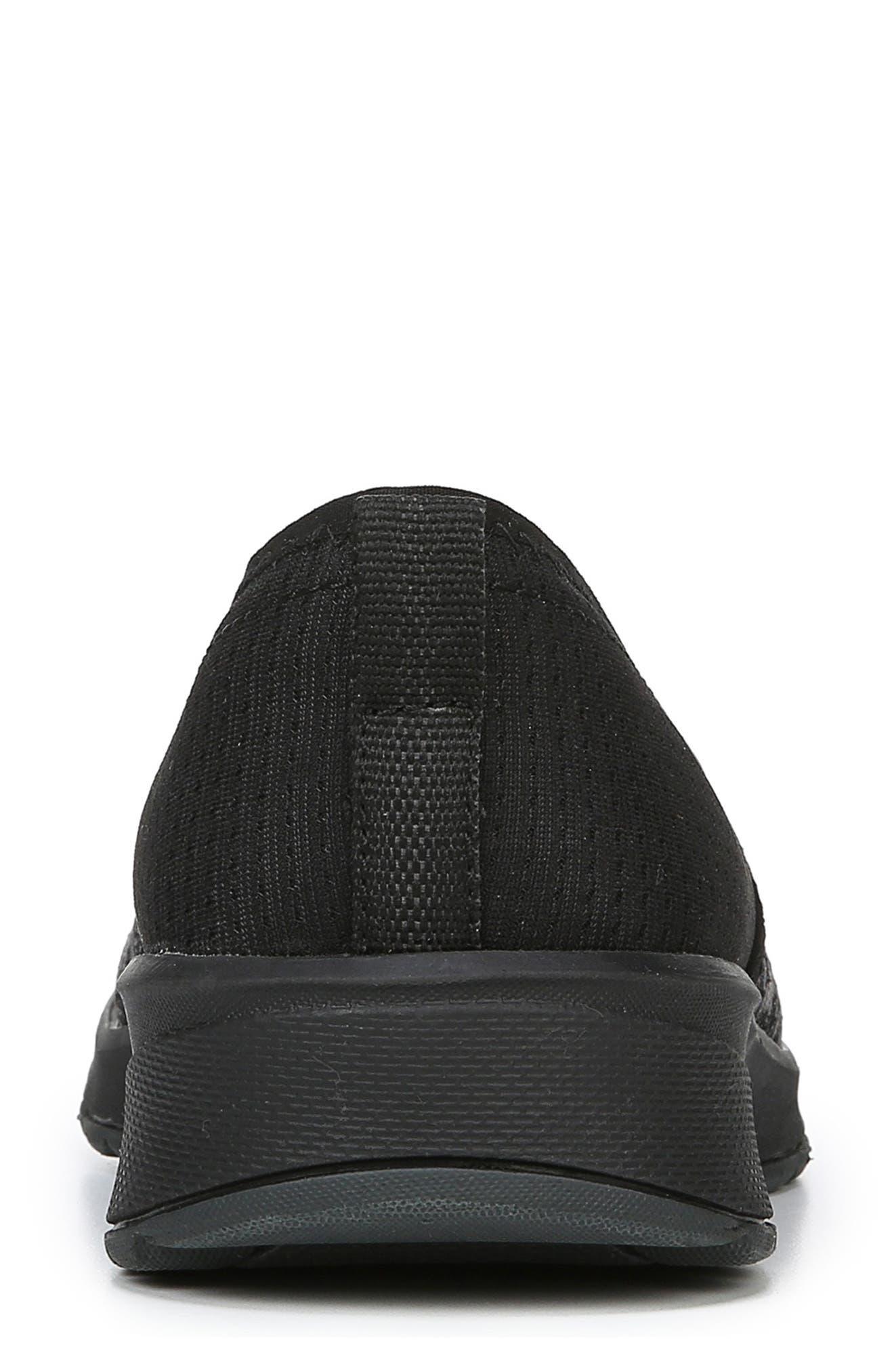 BZEES,                             Glee Slip-On Sneaker,                             Alternate thumbnail 8, color,                             BLACK DOT HEATHER FABRIC