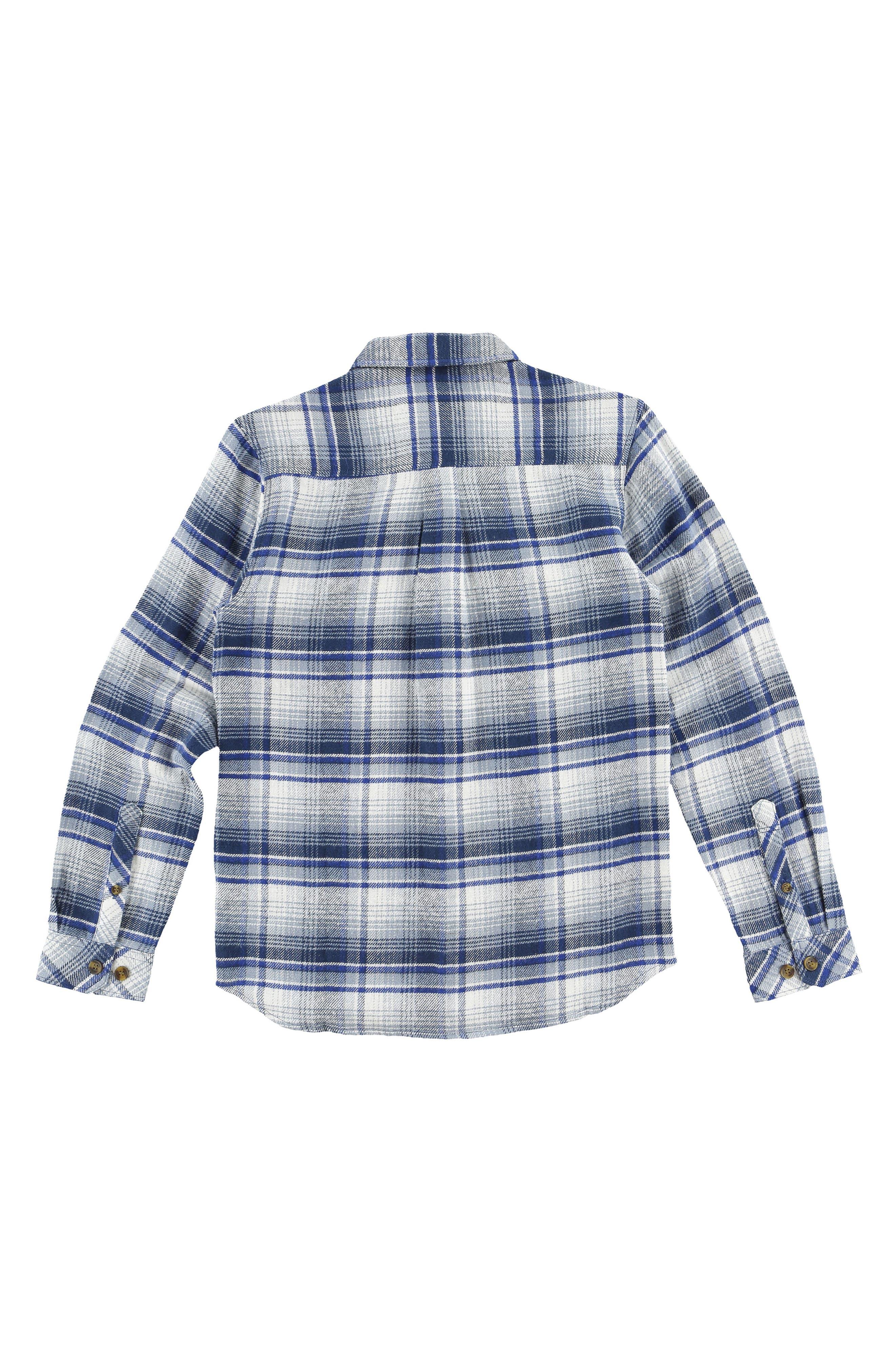 Butler Plaid Flannel Shirt,                         Main,                         color, 472