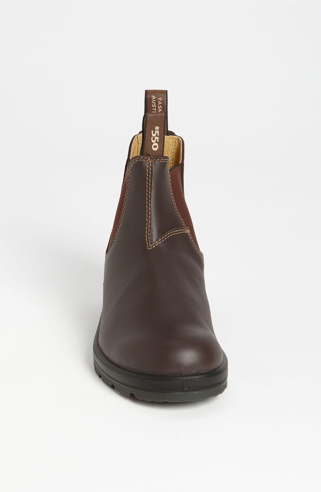 Footwear Chelsea Boot,                             Alternate thumbnail 3, color,                             WALNUT