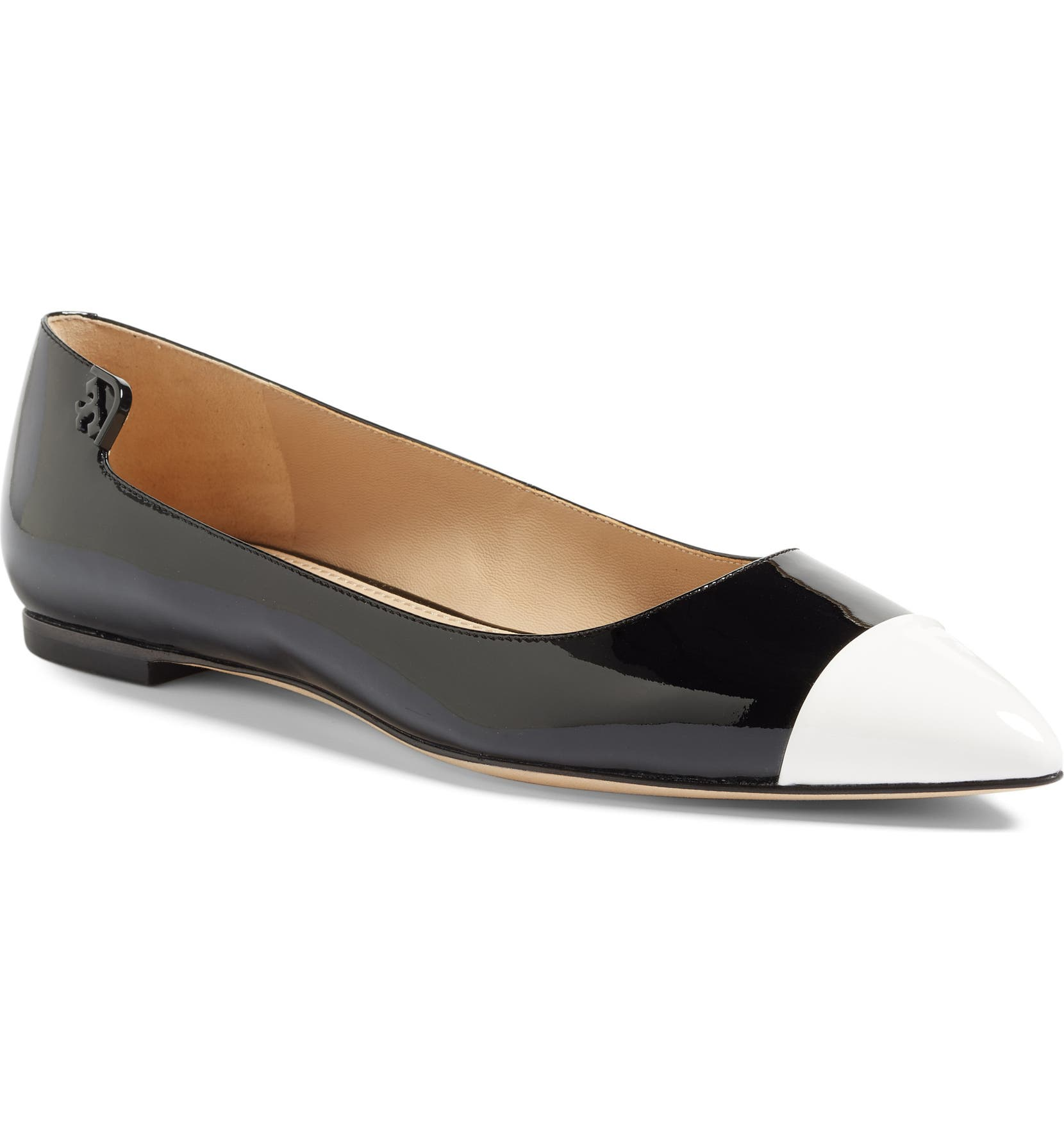 b55bee7bda383 Tory Burch  Elizabeth  Pointy Toe Flat (Women)