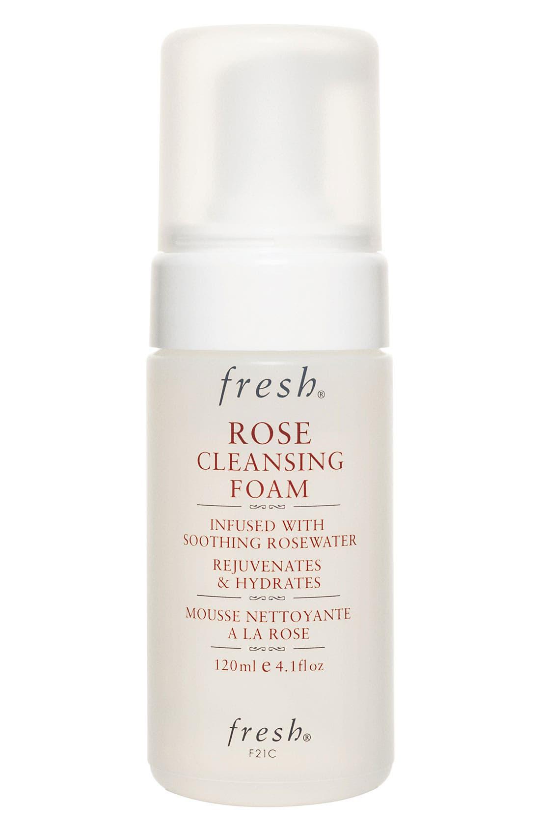Rose Cleansing Foam,                         Main,                         color, NO COLOR