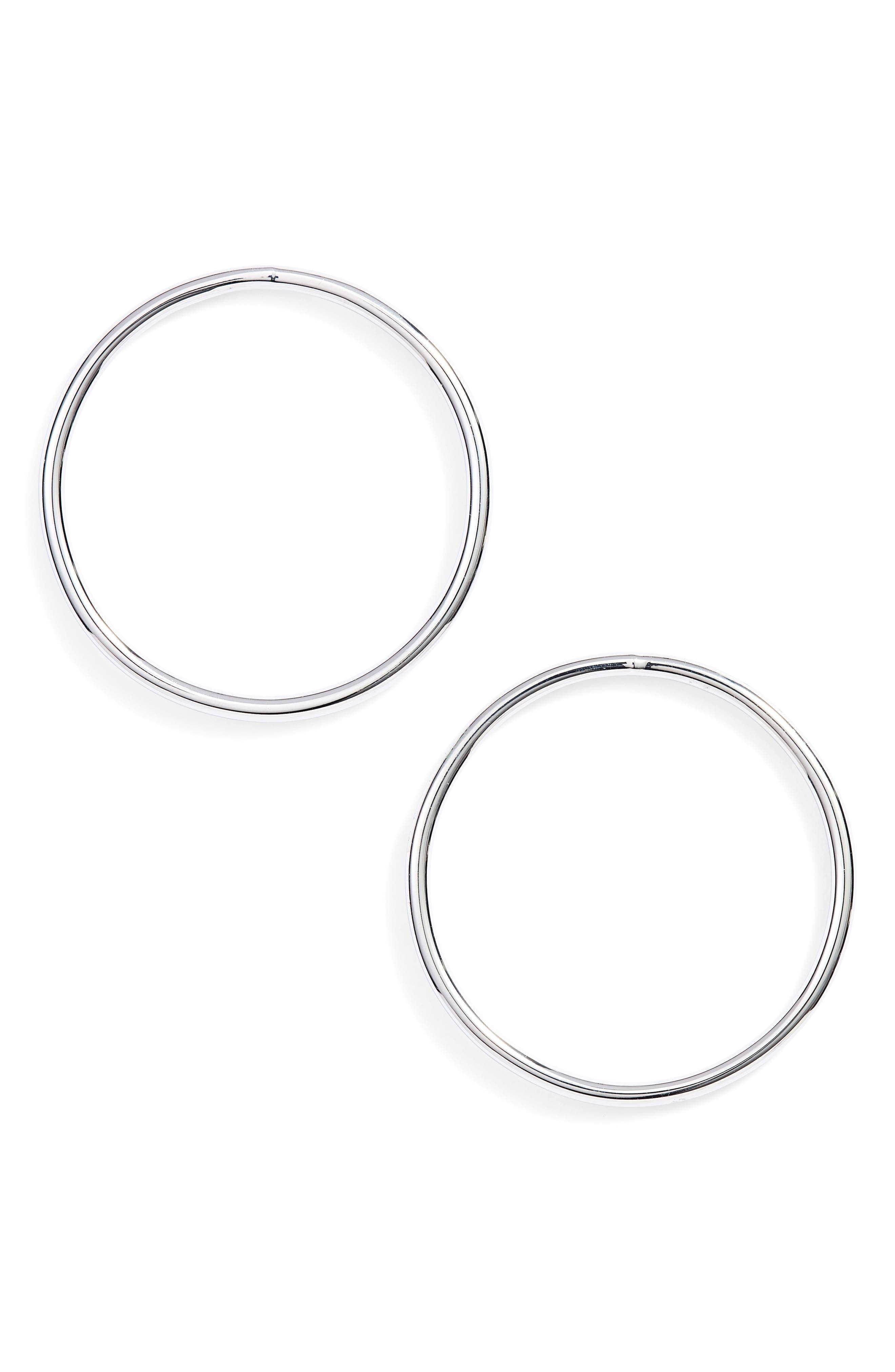 Frontal Hoop Earrings,                         Main,                         color,