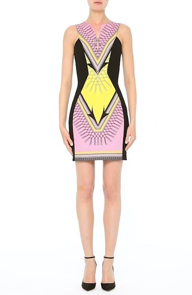 Collection Scarf Print Stretch Cady Dress, video thumbnail