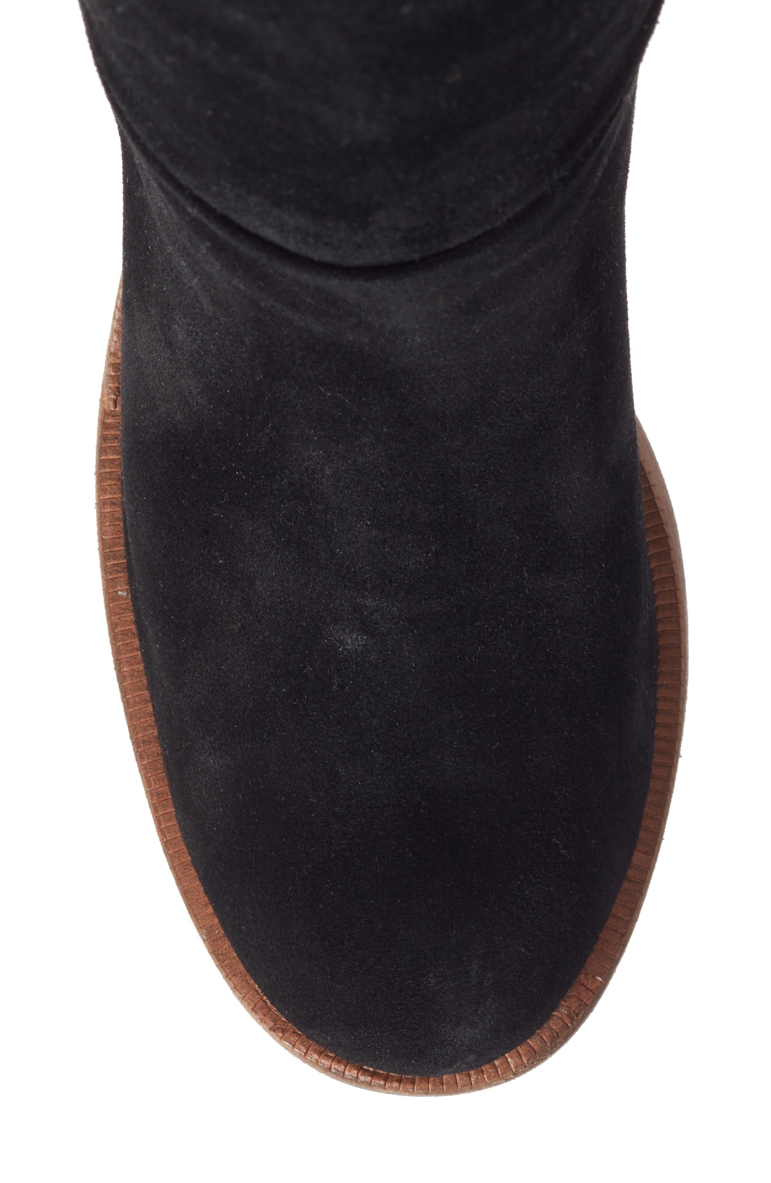 Maeva Knee High Boot,                             Alternate thumbnail 5, color,                             001
