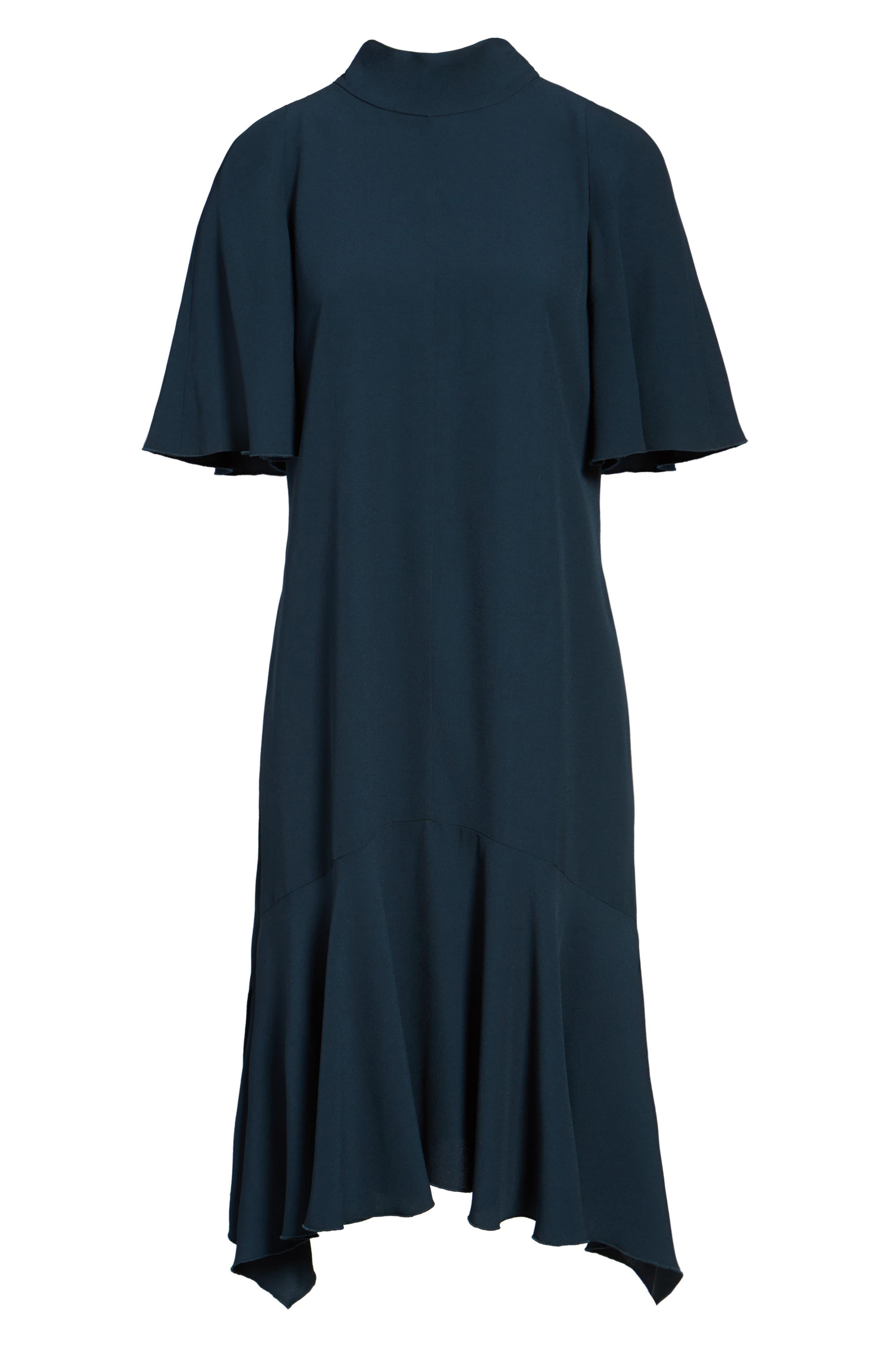 Tie Back Cady Dress,                             Alternate thumbnail 6, color,                             301