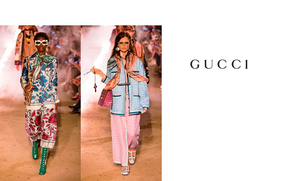 Gucci cruise 2019. On pre-order now.