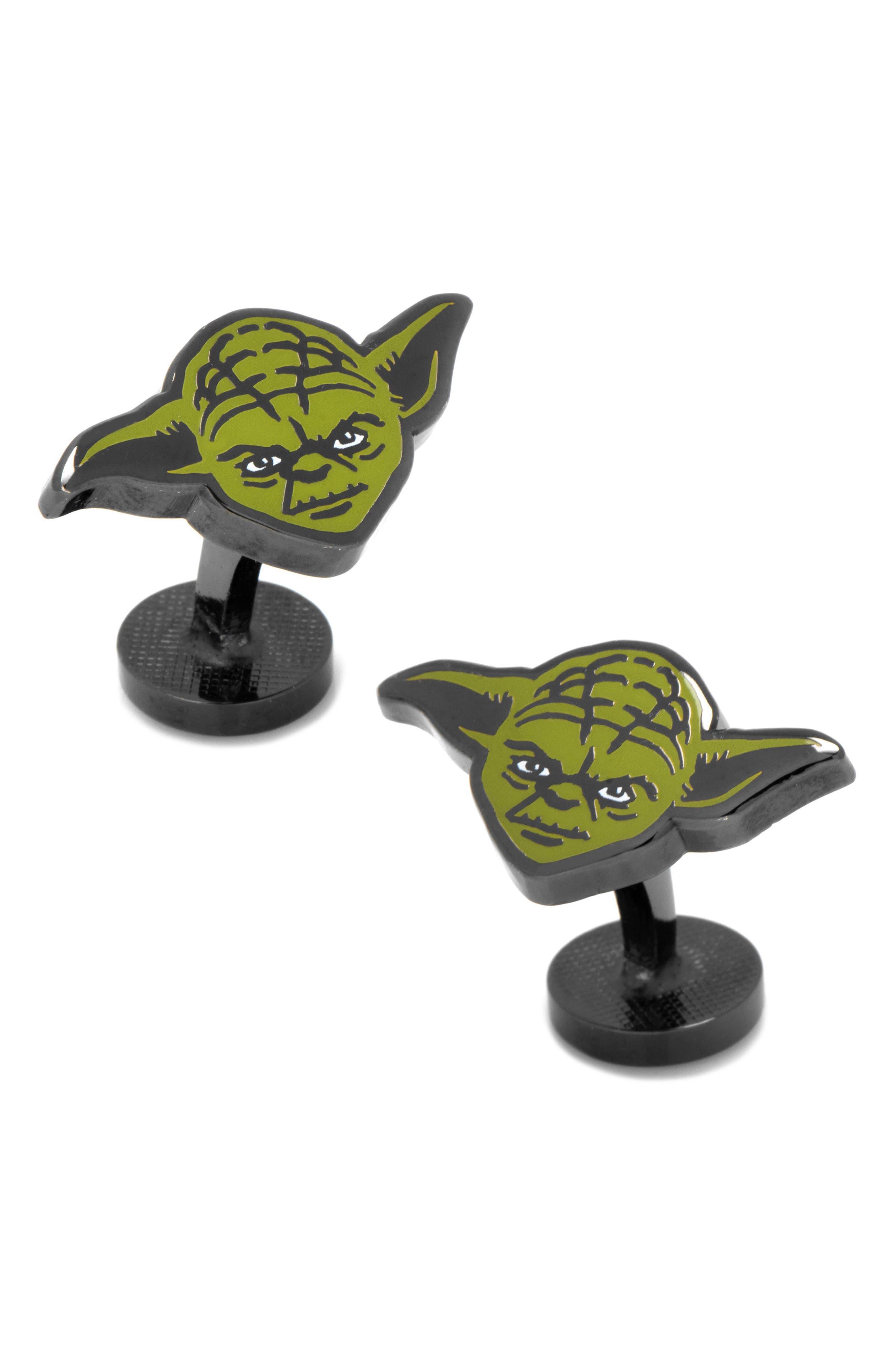 'Star Wars - Yoda' Cuff Links,                         Main,                         color, 001