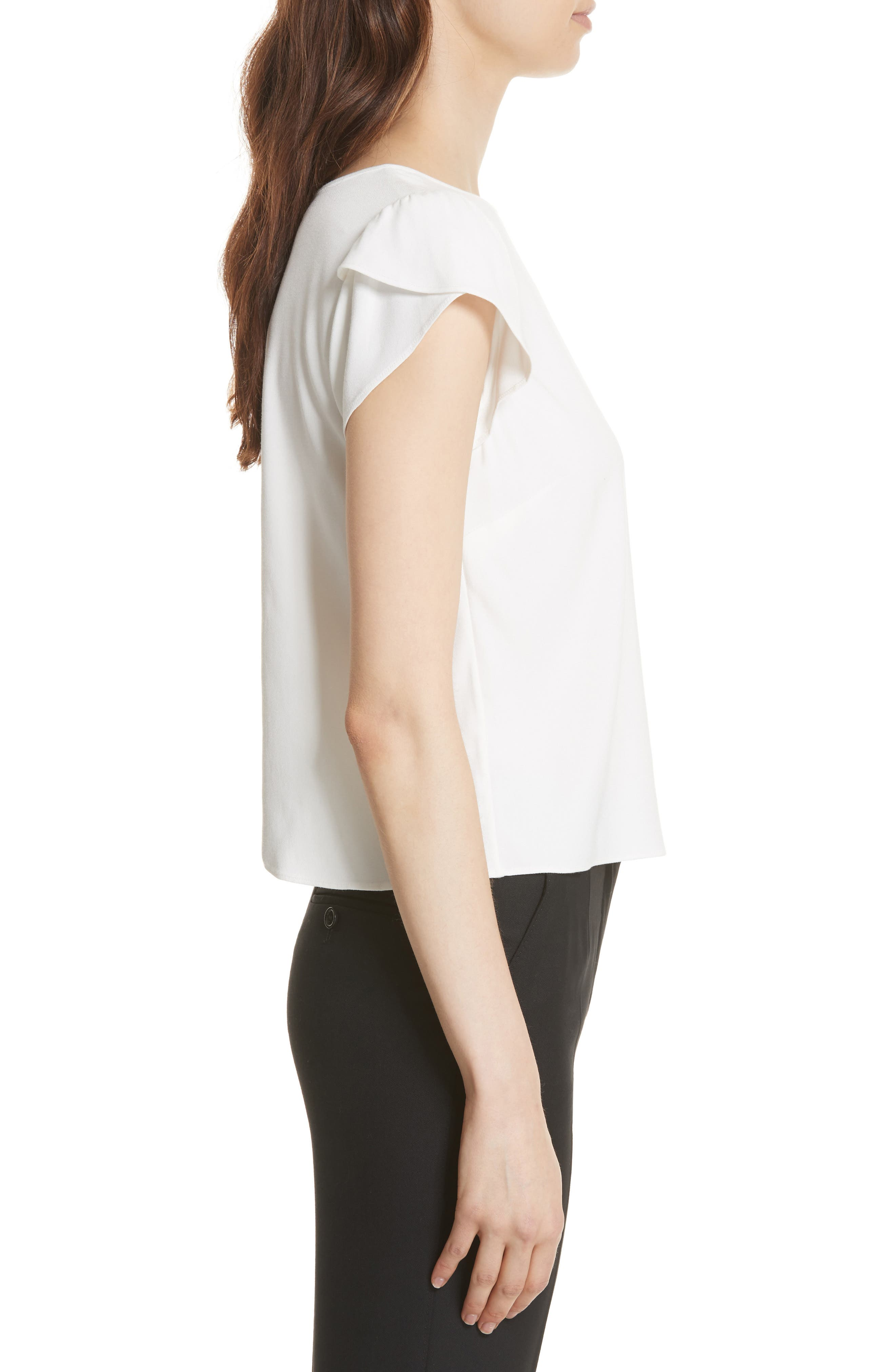 Stellany Split Back Top,                             Alternate thumbnail 3, color,                             120