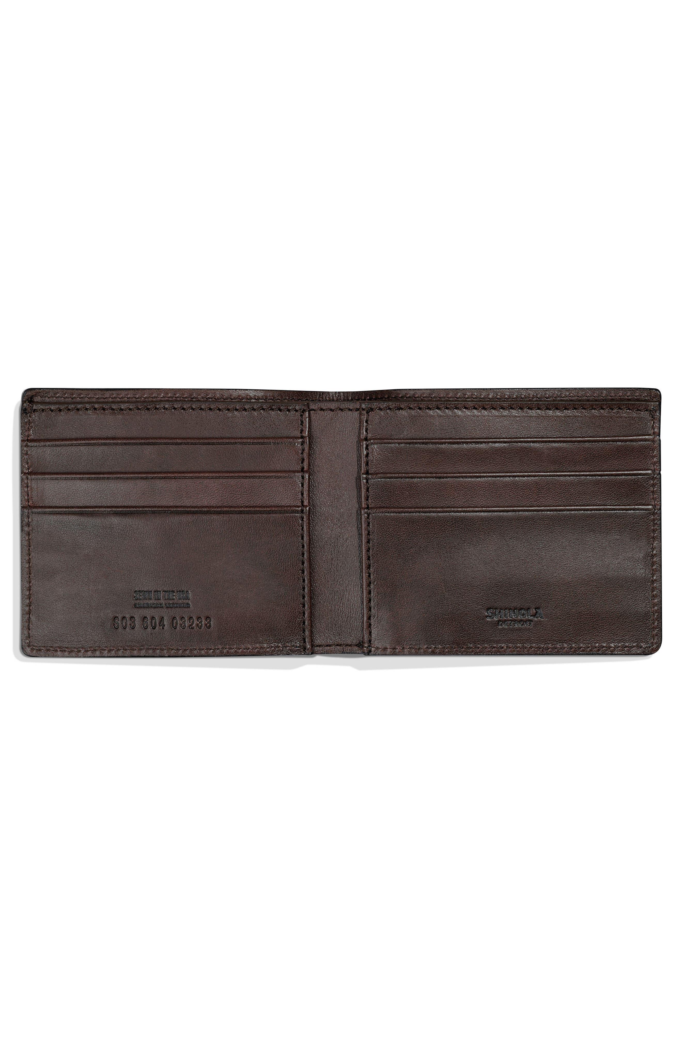 Bolt Leather Wallet,                             Alternate thumbnail 3, color,                             240