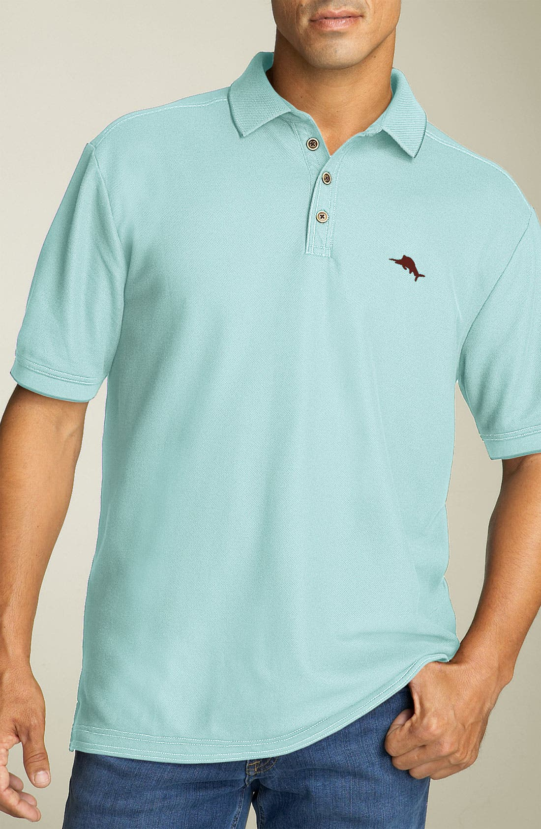 'The Emfielder' Original Fit Piqué Polo,                             Main thumbnail 84, color,