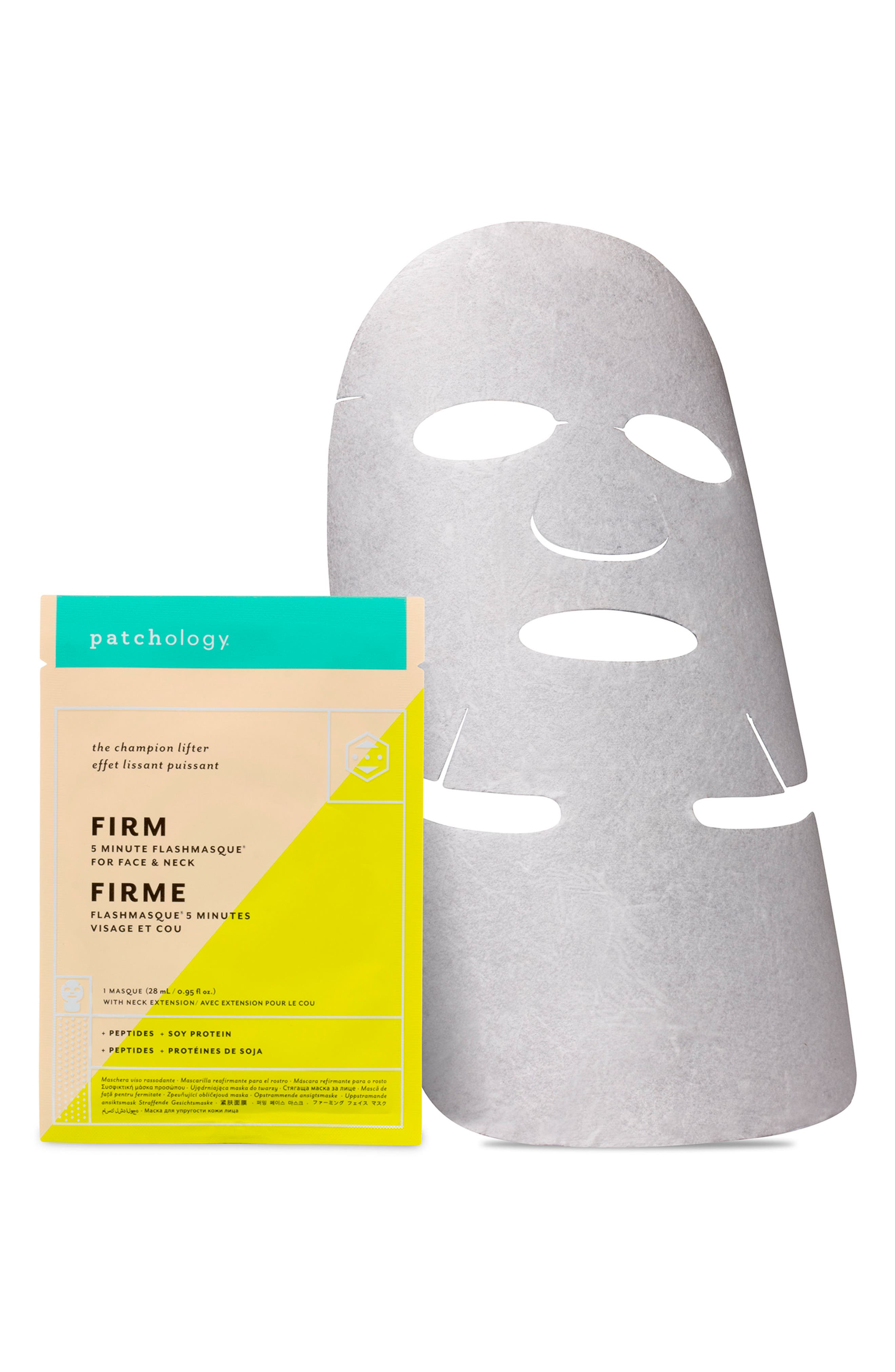FlashMasque<sup>®</sup> Firm 5-Minute Face & Neck Sheet Mask,                             Alternate thumbnail 2, color,                             000