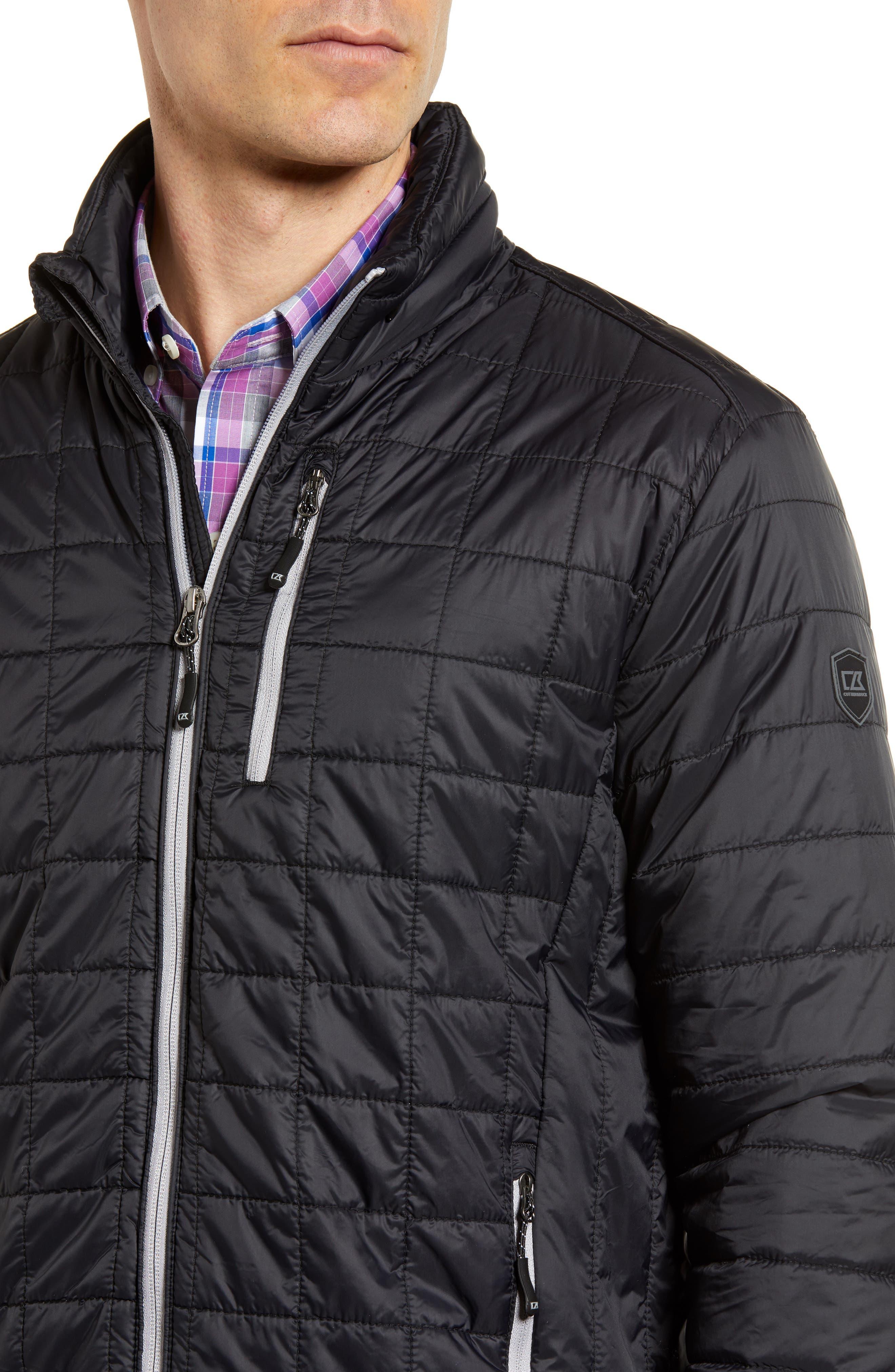 Rainier PrimaLoft<sup>®</sup> Insulated Jacket,                             Alternate thumbnail 4, color,                             001