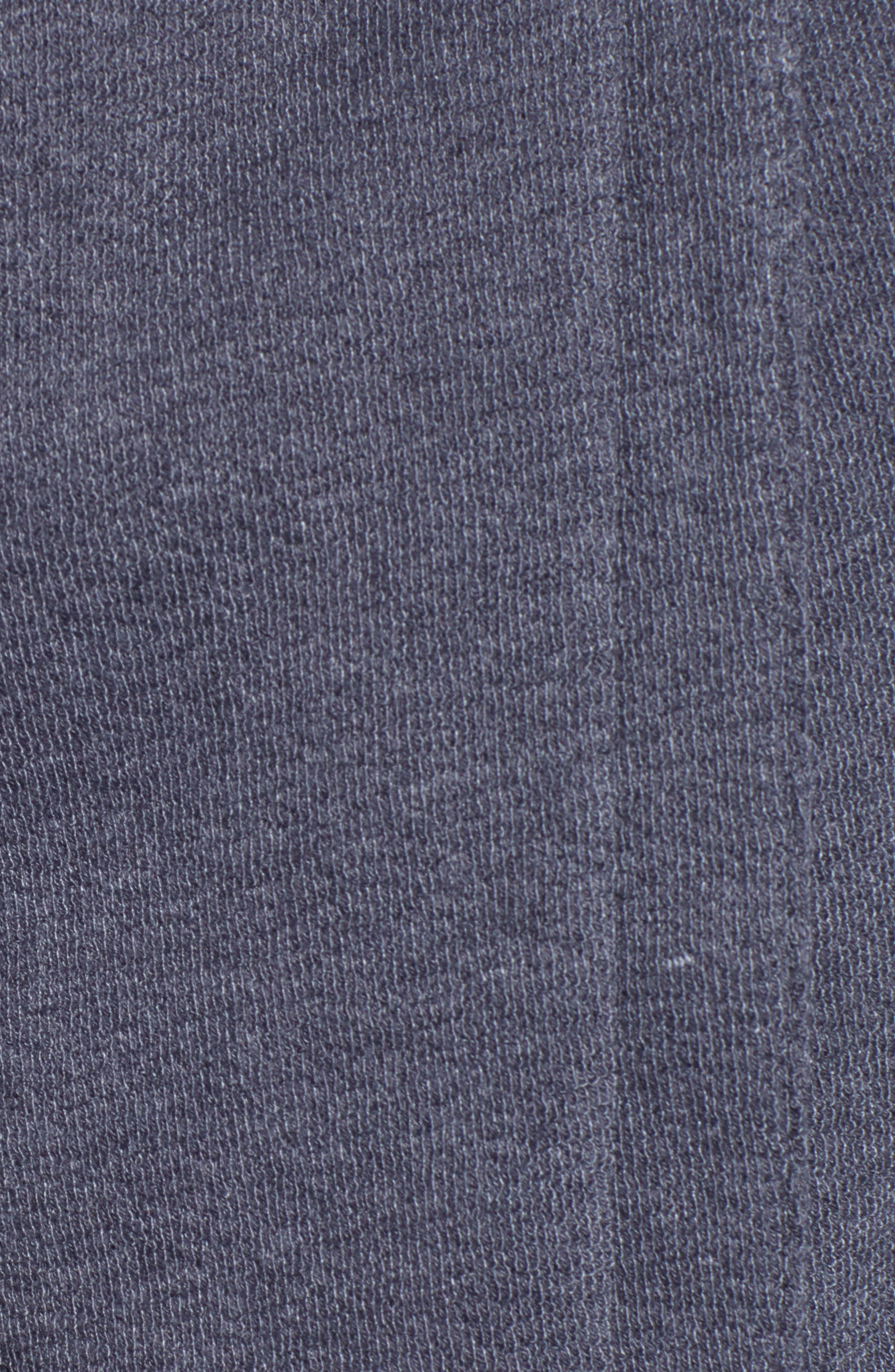 CASLON<SUP>®</SUP>,                             Knit Moto Jacket,                             Alternate thumbnail 7, color,                             GREY EBONY