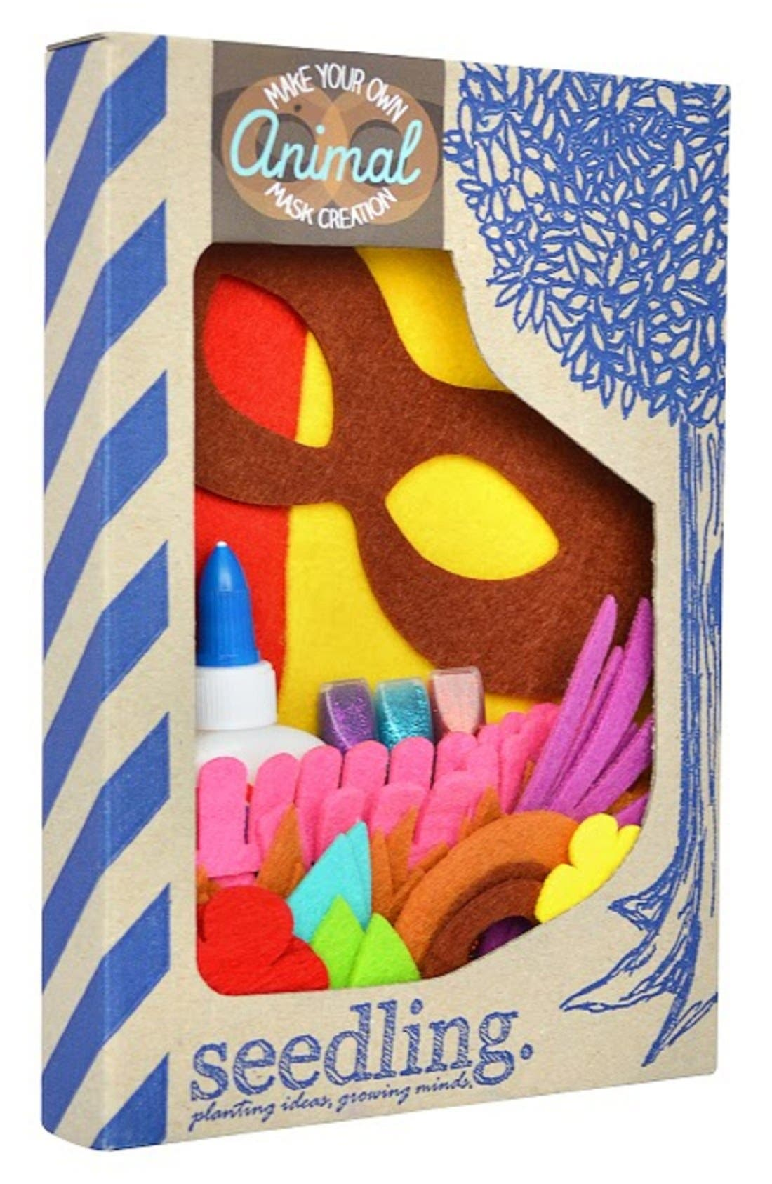 'Make Your Own Animal Mask Creation' DIY Craft Kit,                             Main thumbnail 1, color,                             960