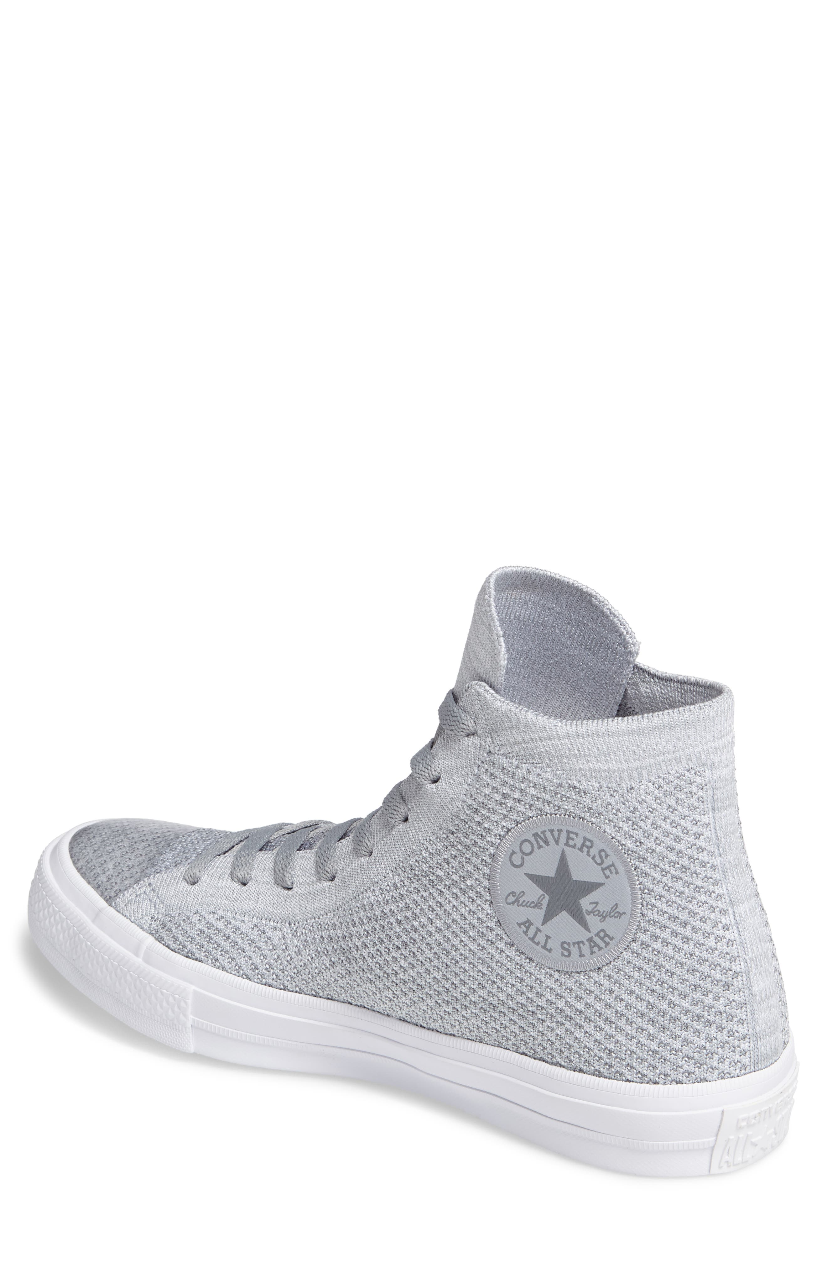 Chuck Taylor<sup>®</sup> All Star<sup>®</sup> Flyknit Hi Sneaker,                             Alternate thumbnail 9, color,