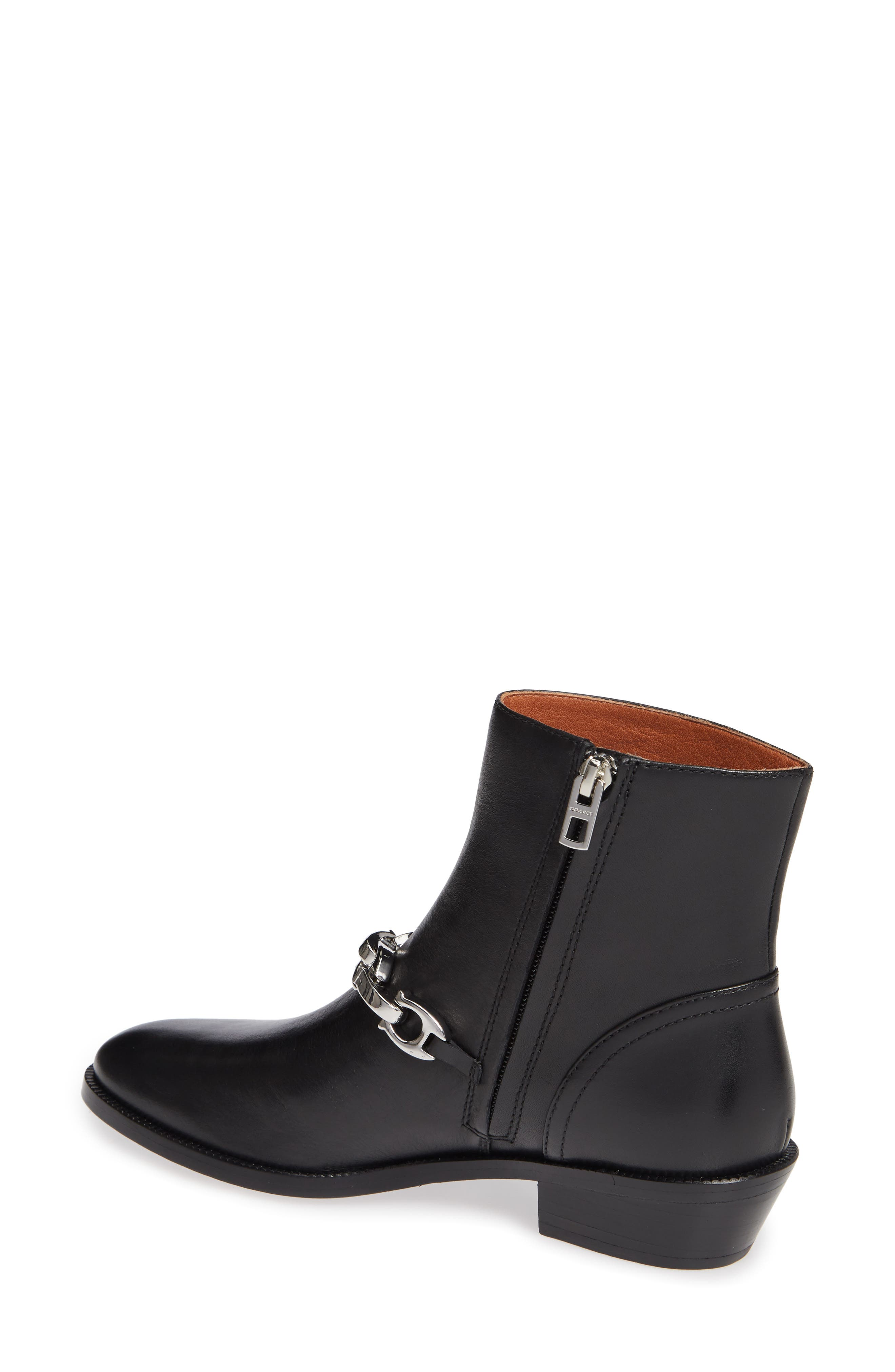 Allen Bootie,                             Alternate thumbnail 2, color,                             BLACK LEATHER