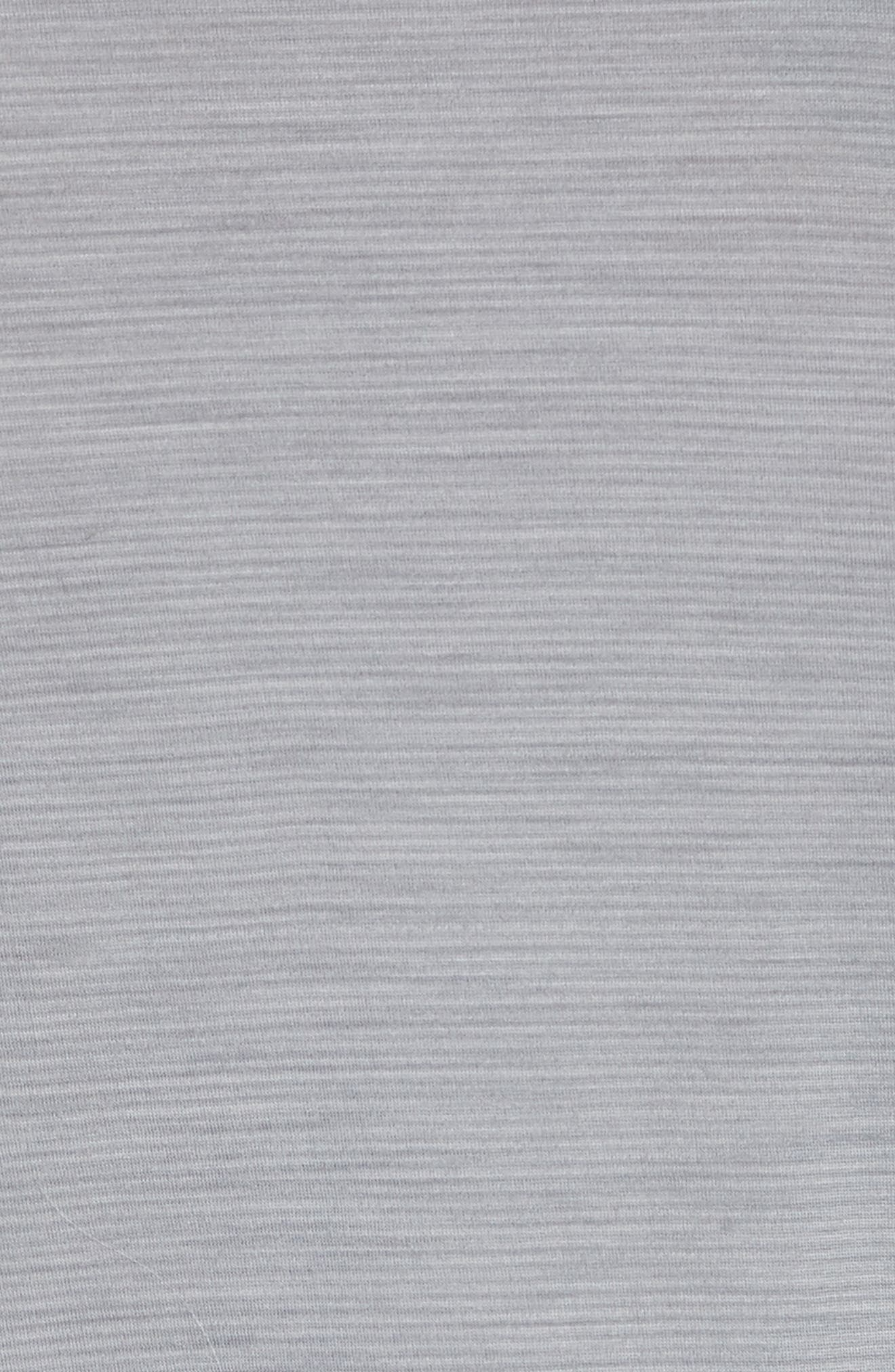 SMARTWOOL,                             Merino 150 Wool Blend Long Sleeve T-Shirt,                             Alternate thumbnail 5, color,                             LIGHT GREY