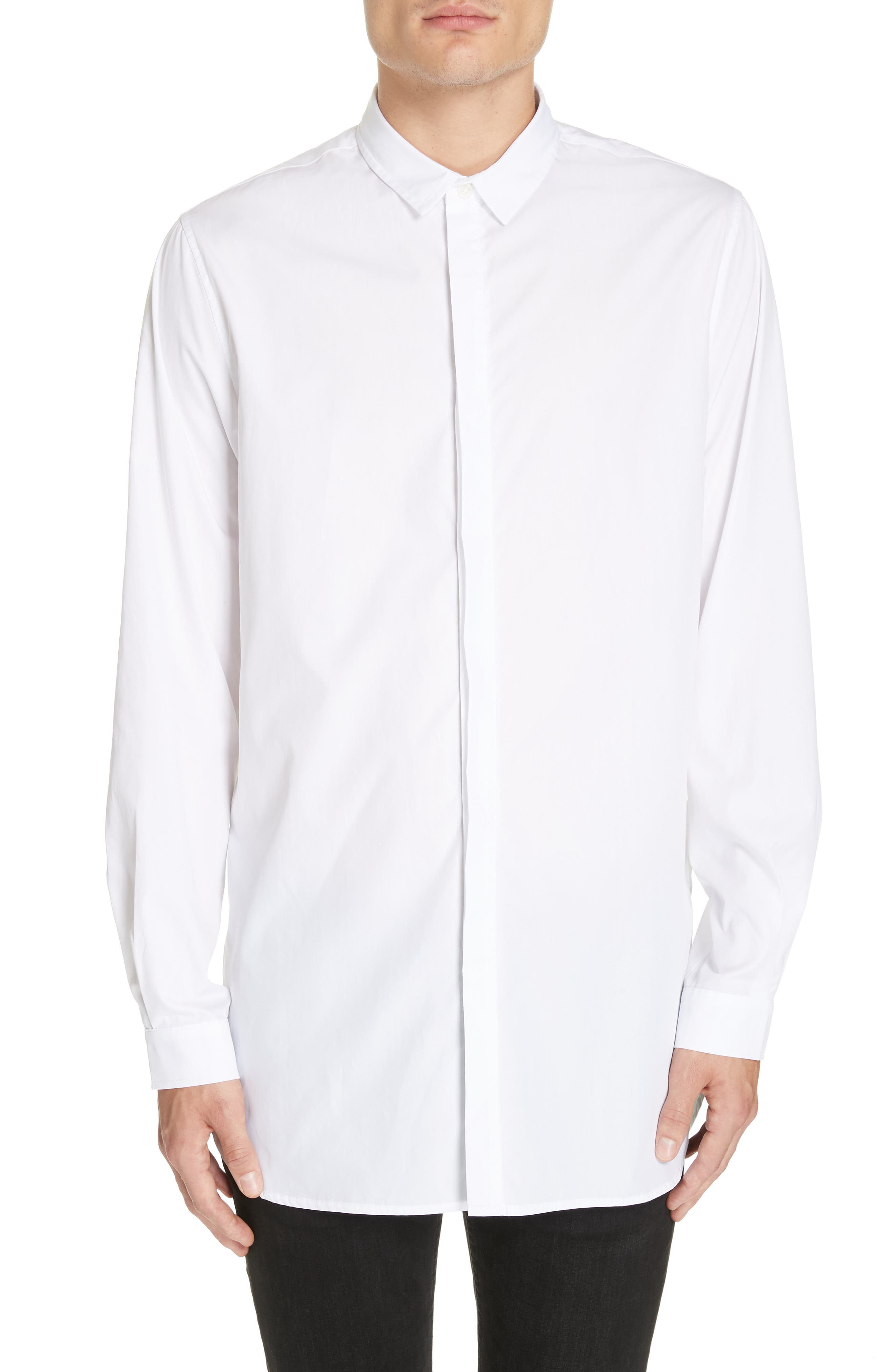 STAMPD Essential Shirt in White