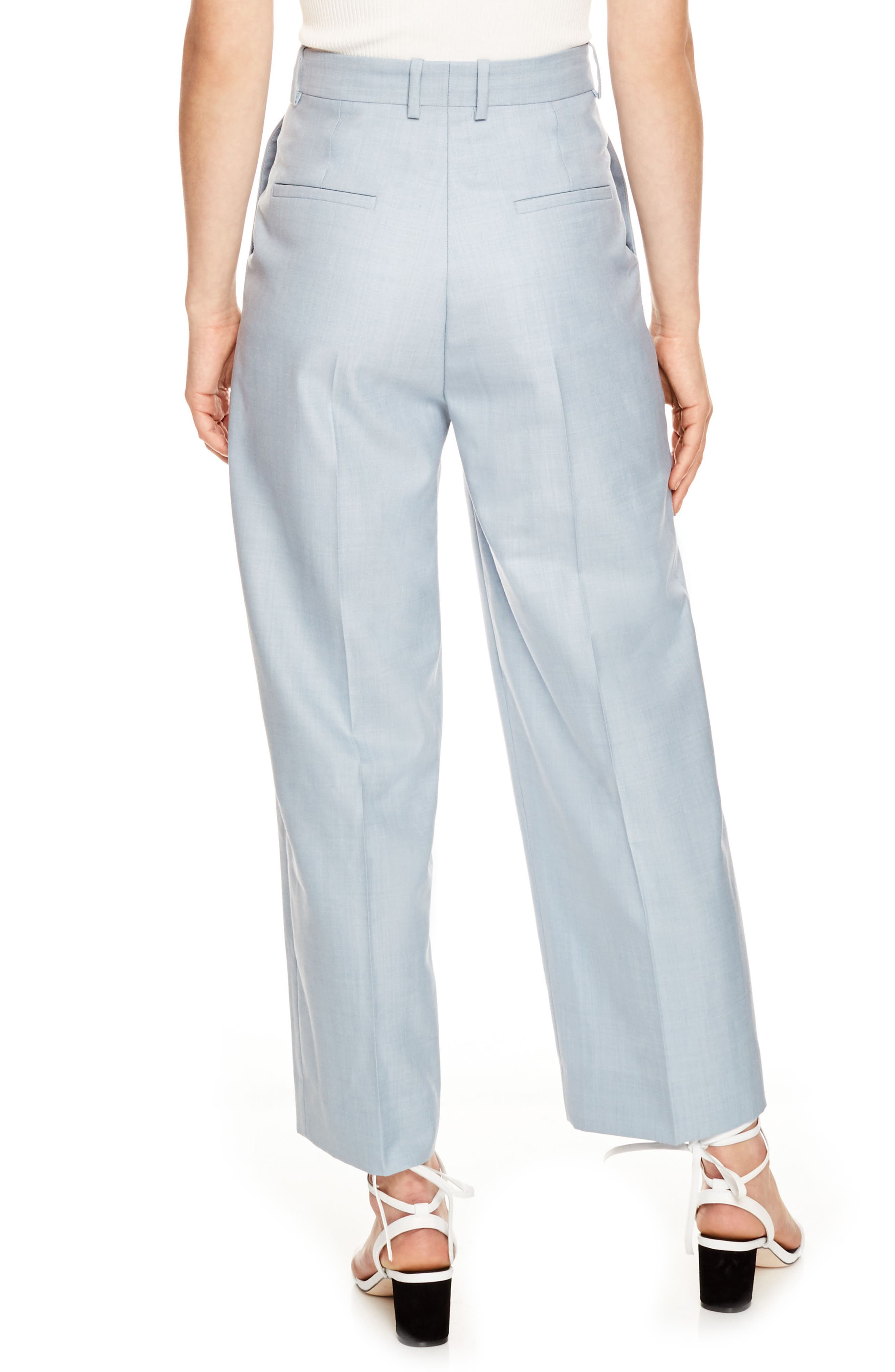 Wide Leg Trousers,                             Alternate thumbnail 2, color,                             400