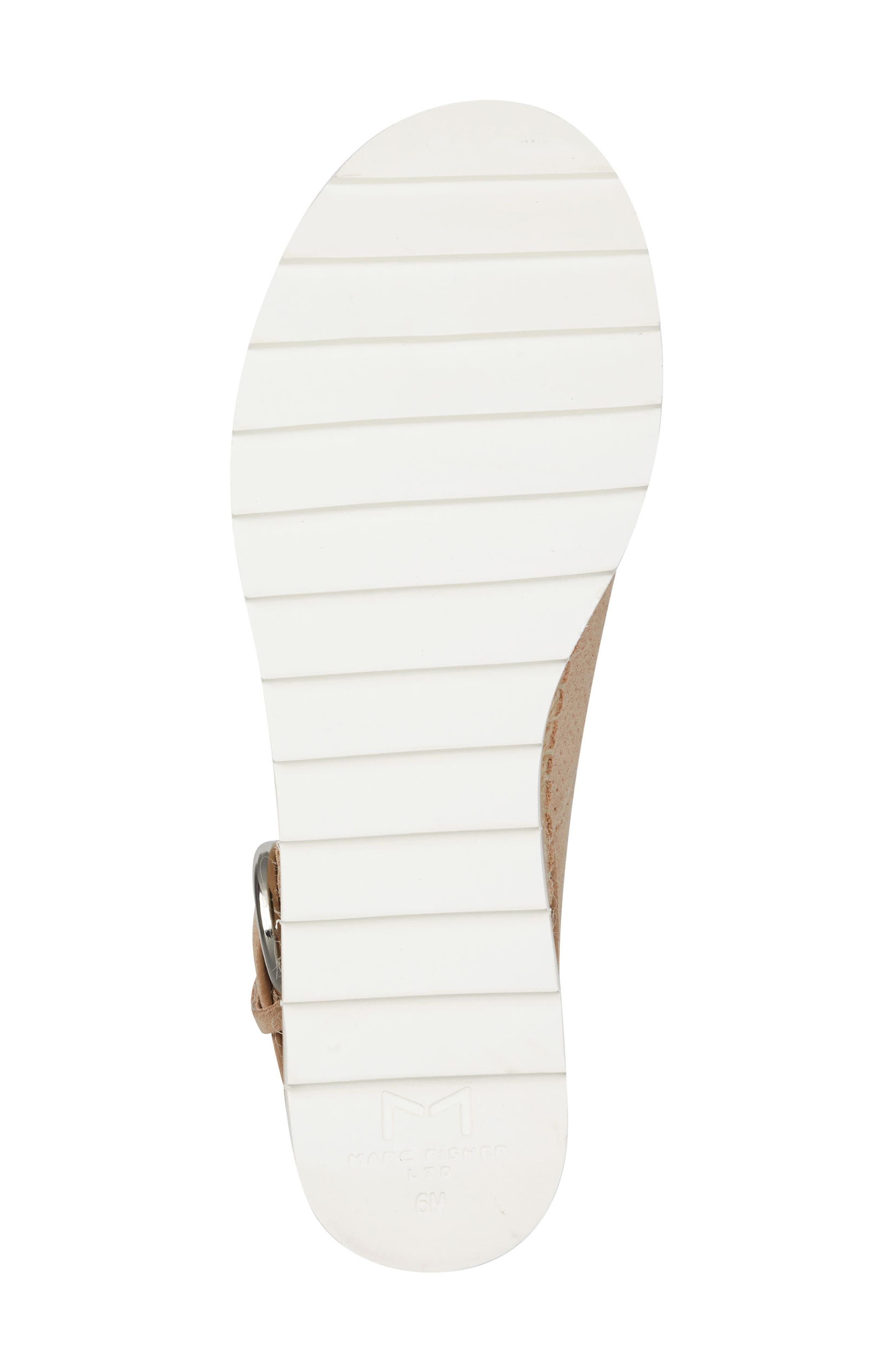 Gellyn Slingback Sandal,                             Alternate thumbnail 6, color,                             LIGHT NATURAL SUEDE