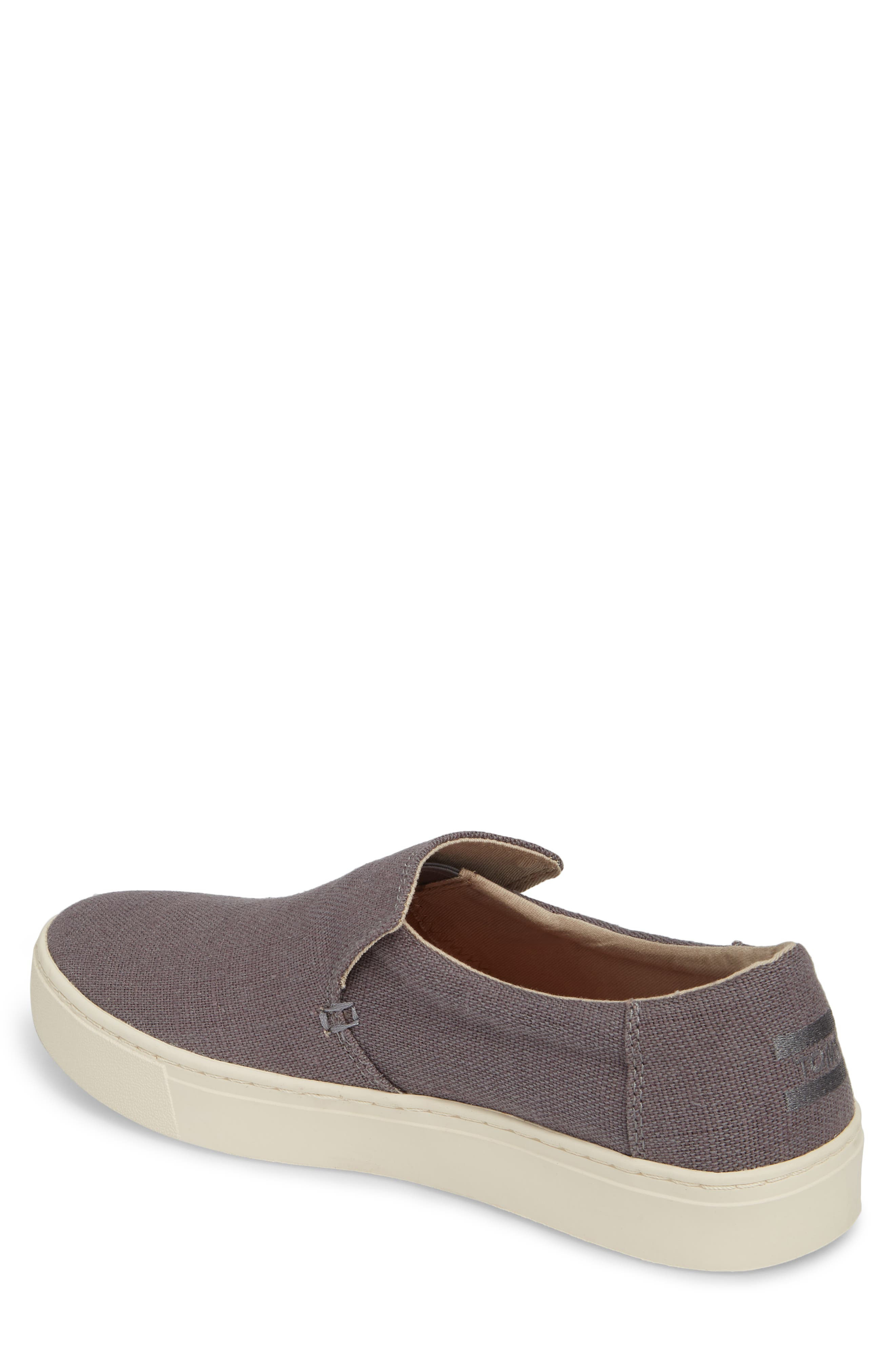 Loma Slip-On Sneaker,                             Alternate thumbnail 2, color,                             SHADE HERITAGE CANVAS