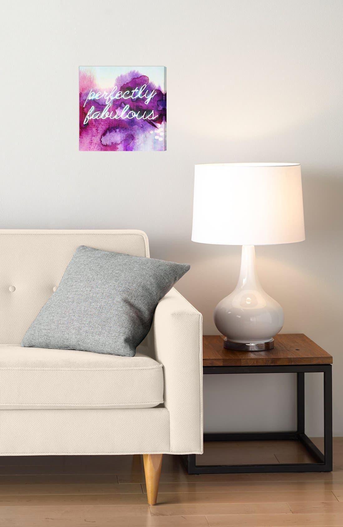 'Perfectly Fabulous' Wall Art,                             Alternate thumbnail 2, color,                             500