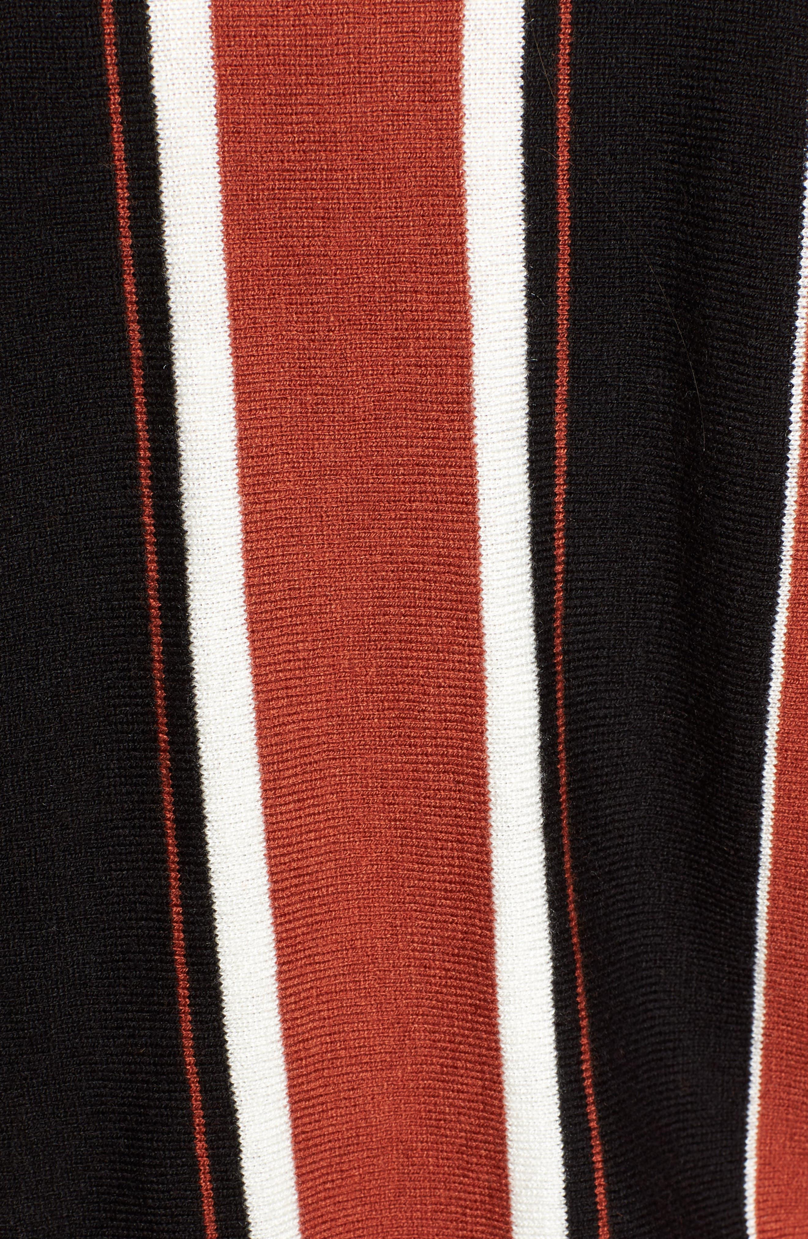 Stripe Dolman Sleeve Sweater,                             Alternate thumbnail 6, color,                             210