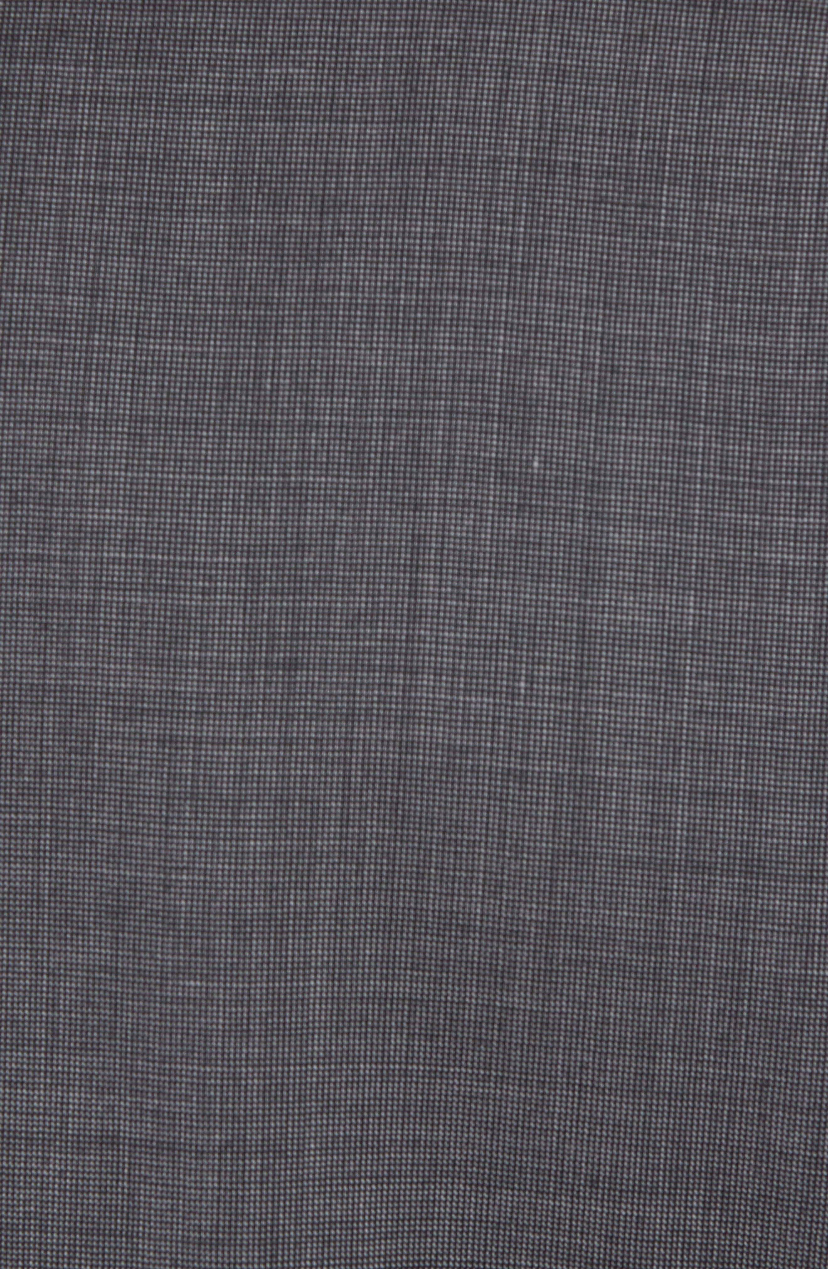 Jay Trim Fit Solid Wool Suit,                             Alternate thumbnail 7, color,                             020