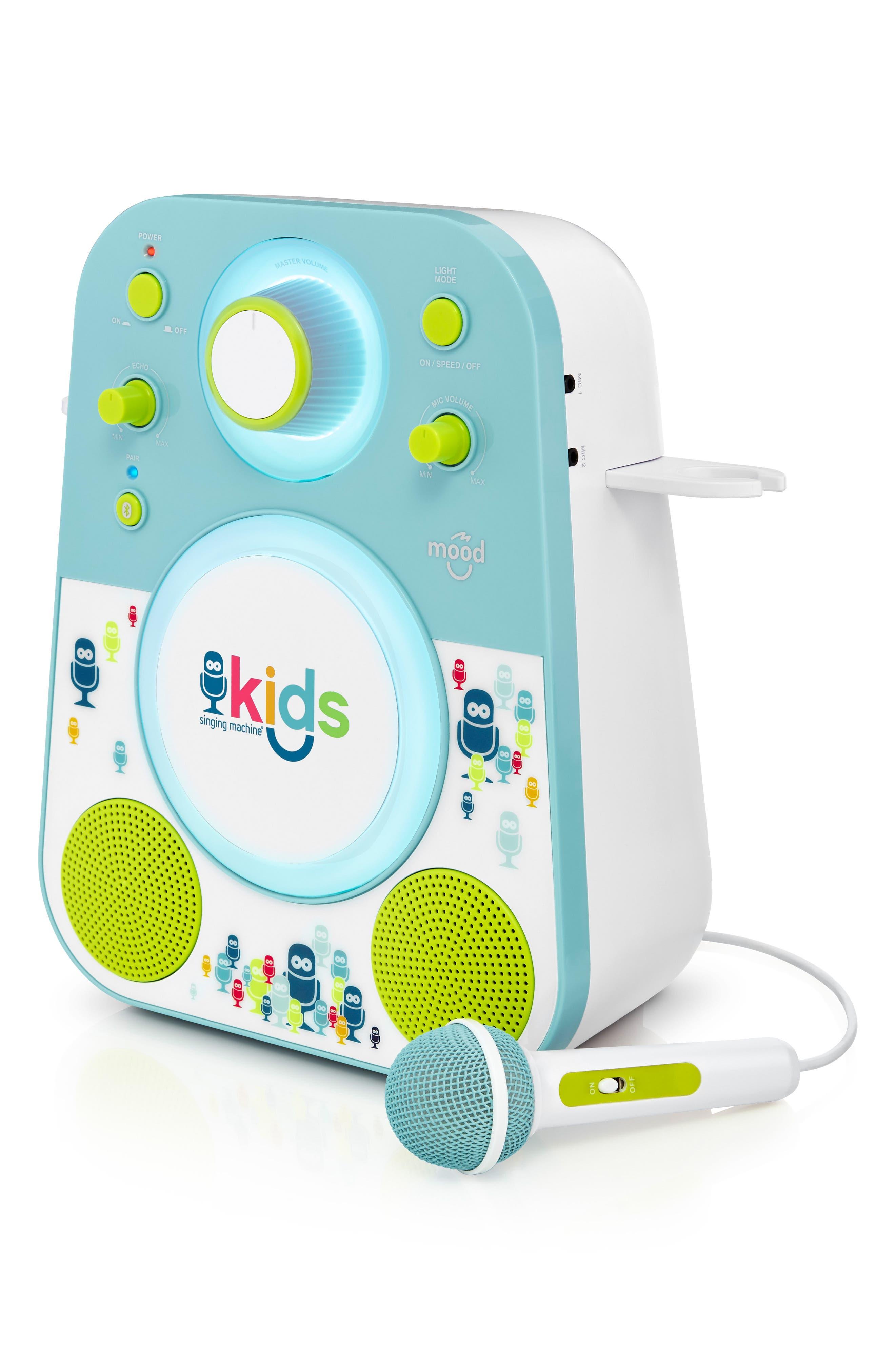 Kids Mood Karaoke System,                             Alternate thumbnail 7, color,                             BLUE GREEN