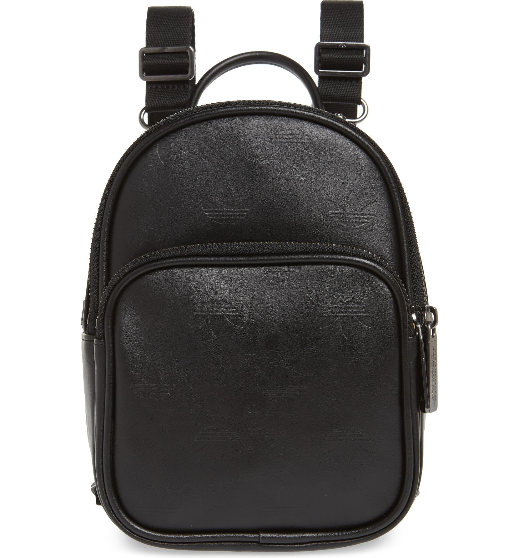 f35f96c7c9c5 adidas Adicolor Mini Faux Leather Backpack