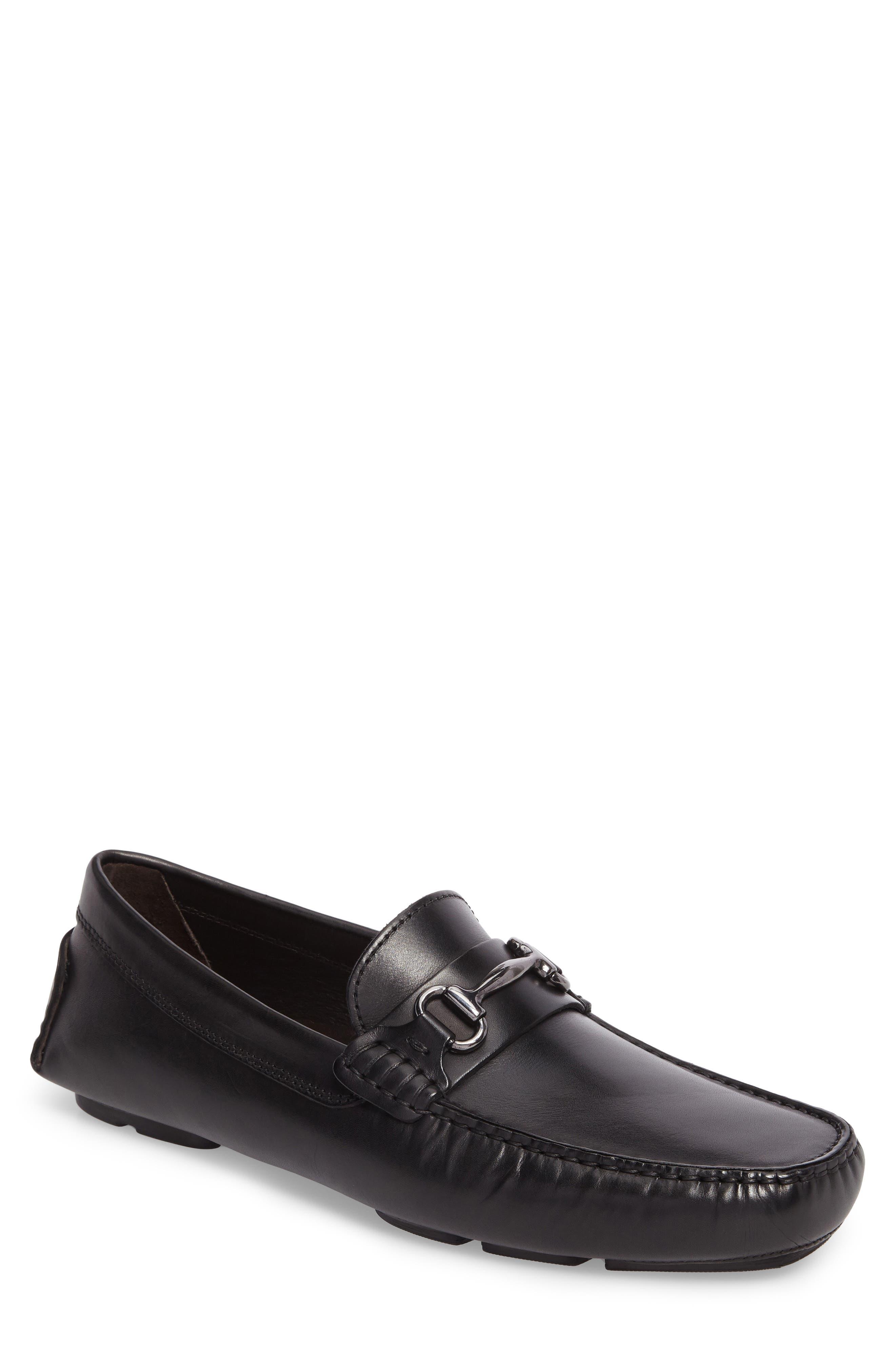 TO BOOT NEW YORK Del Amo Driving Shoe, Main, color, BLACK