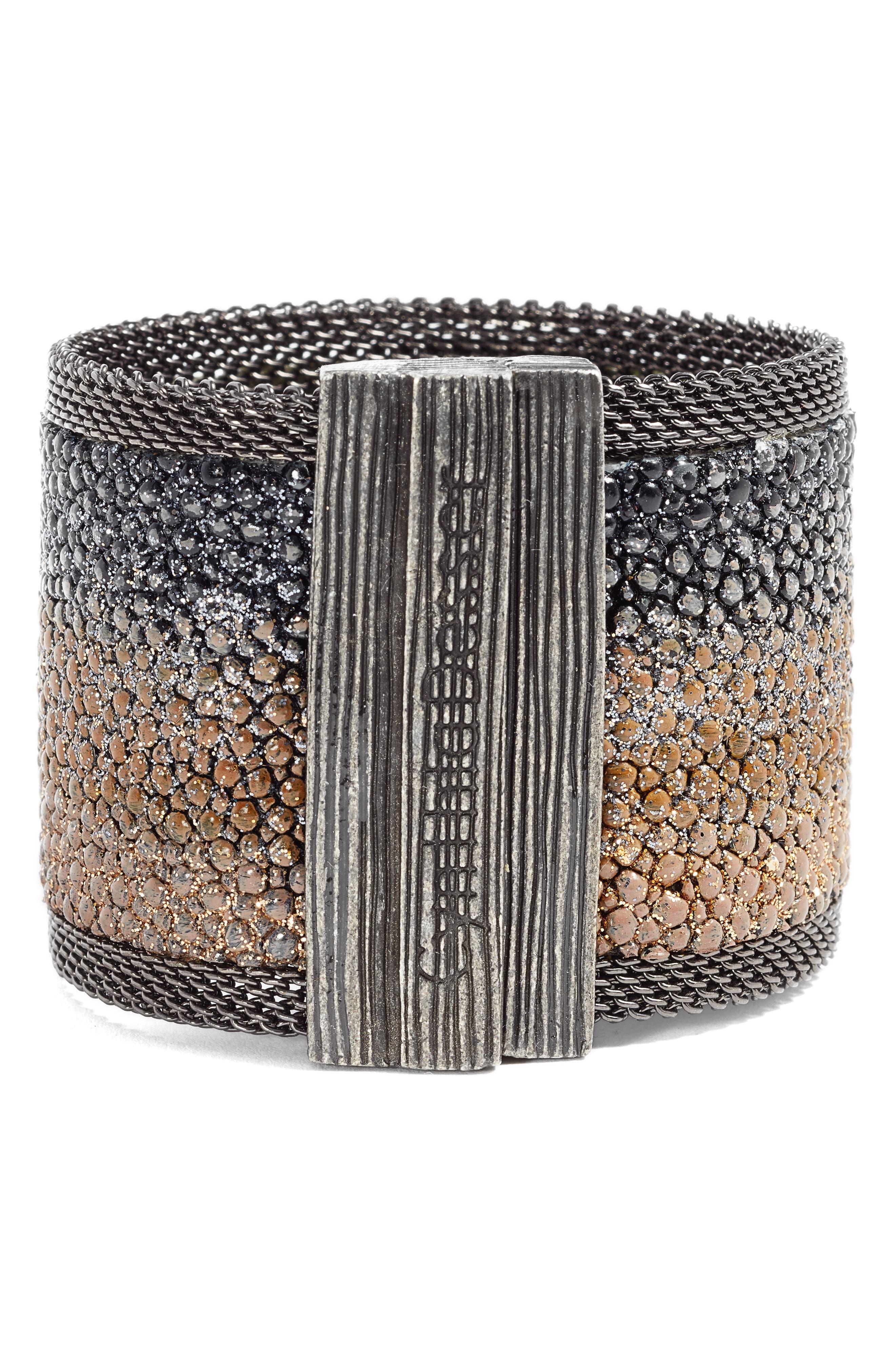 Shimmer Stingray Bracelet,                             Alternate thumbnail 2, color,                             001