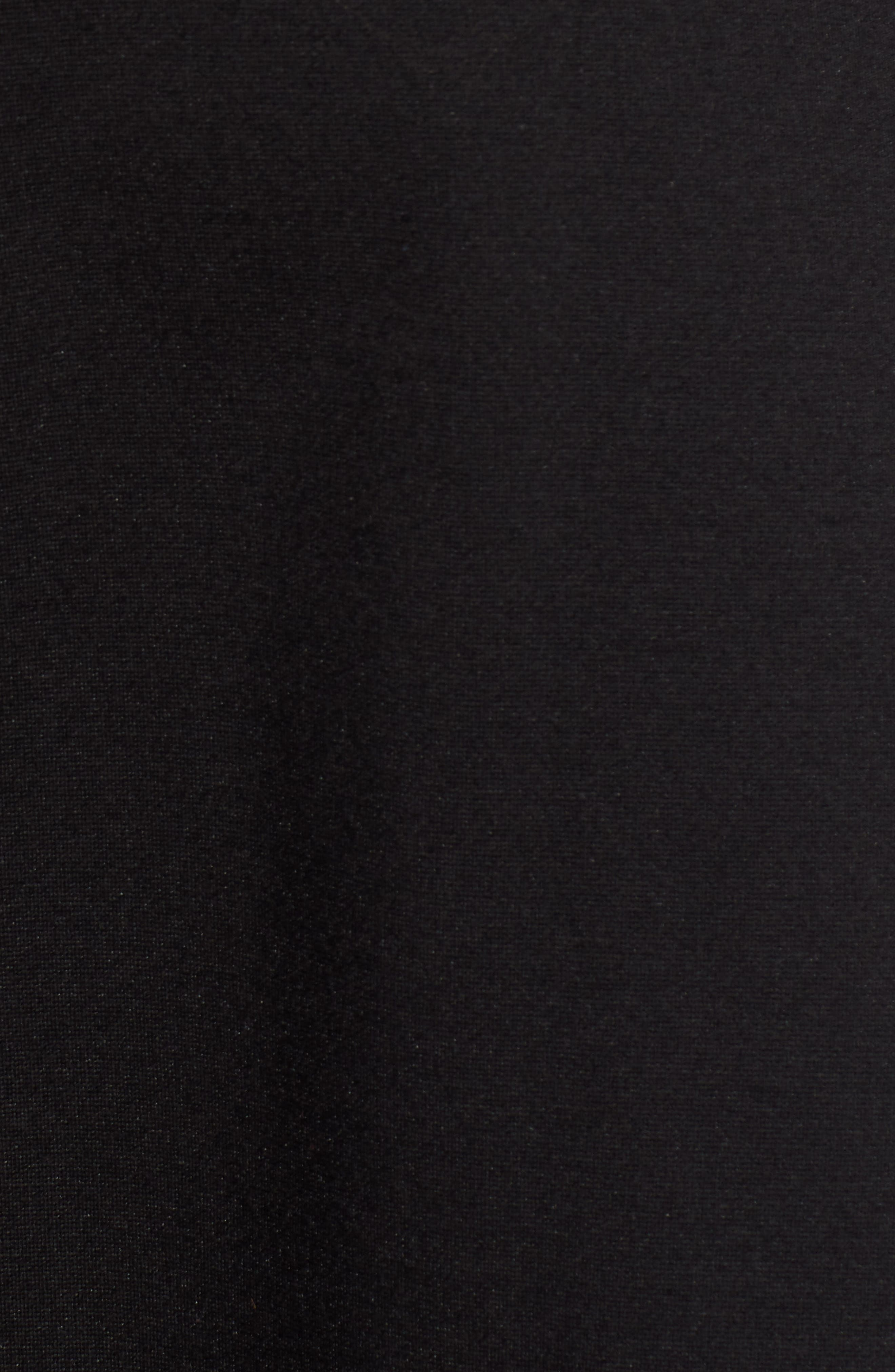 x Atlantic-Pacific Stretch Ponte Dress,                             Alternate thumbnail 6, color,                             001