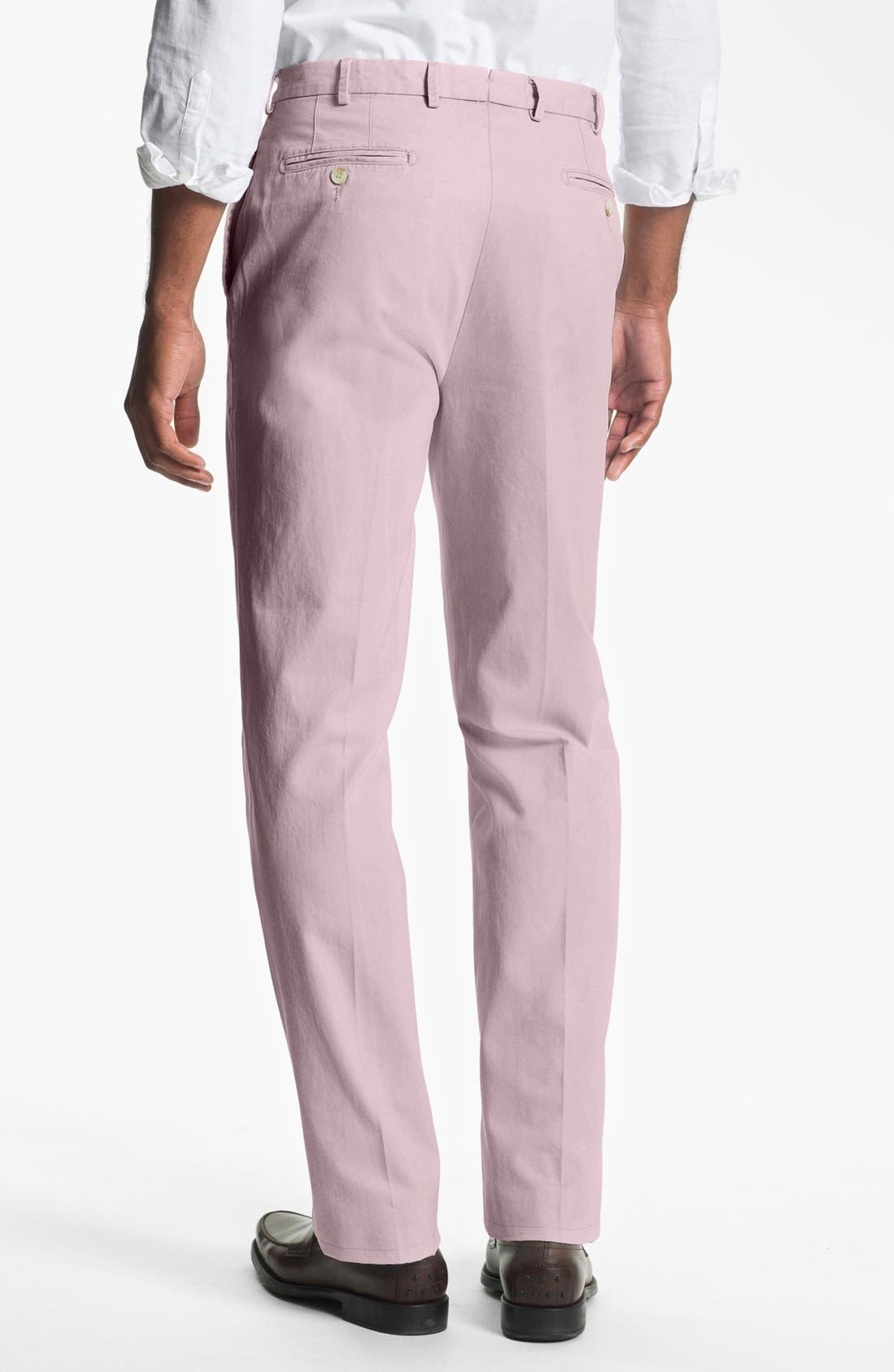 Garment Washed Twill Pants,                             Alternate thumbnail 34, color,