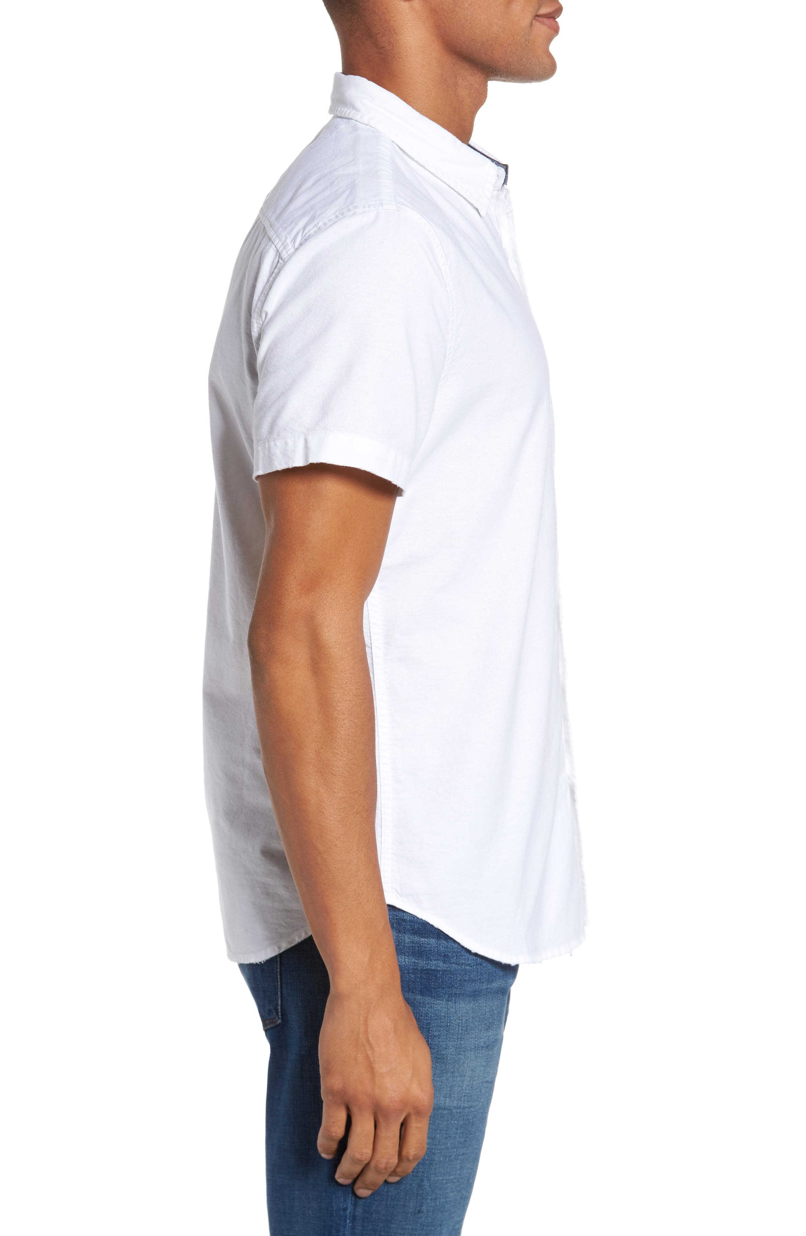 Nash Slim Fit Sport Shirt,                             Alternate thumbnail 3, color,                             155