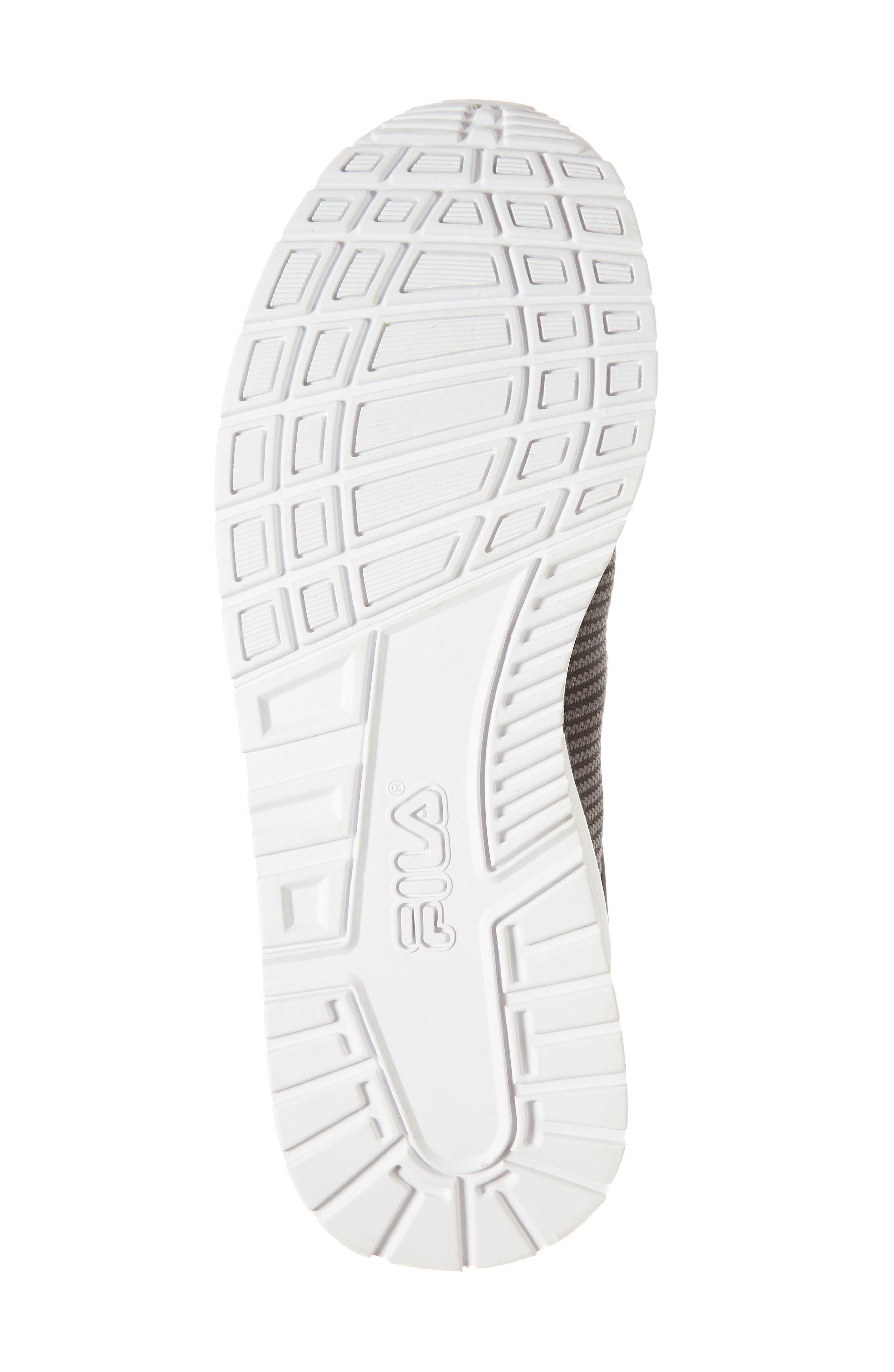 Overpass 2.0 Knit Sneaker,                             Alternate thumbnail 6, color,                             BLACK/ WHITE