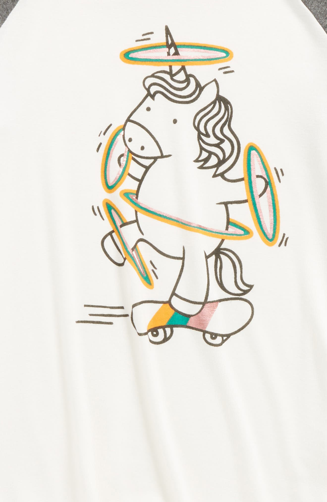 Graphic Swing Tee,                             Alternate thumbnail 6, color,
