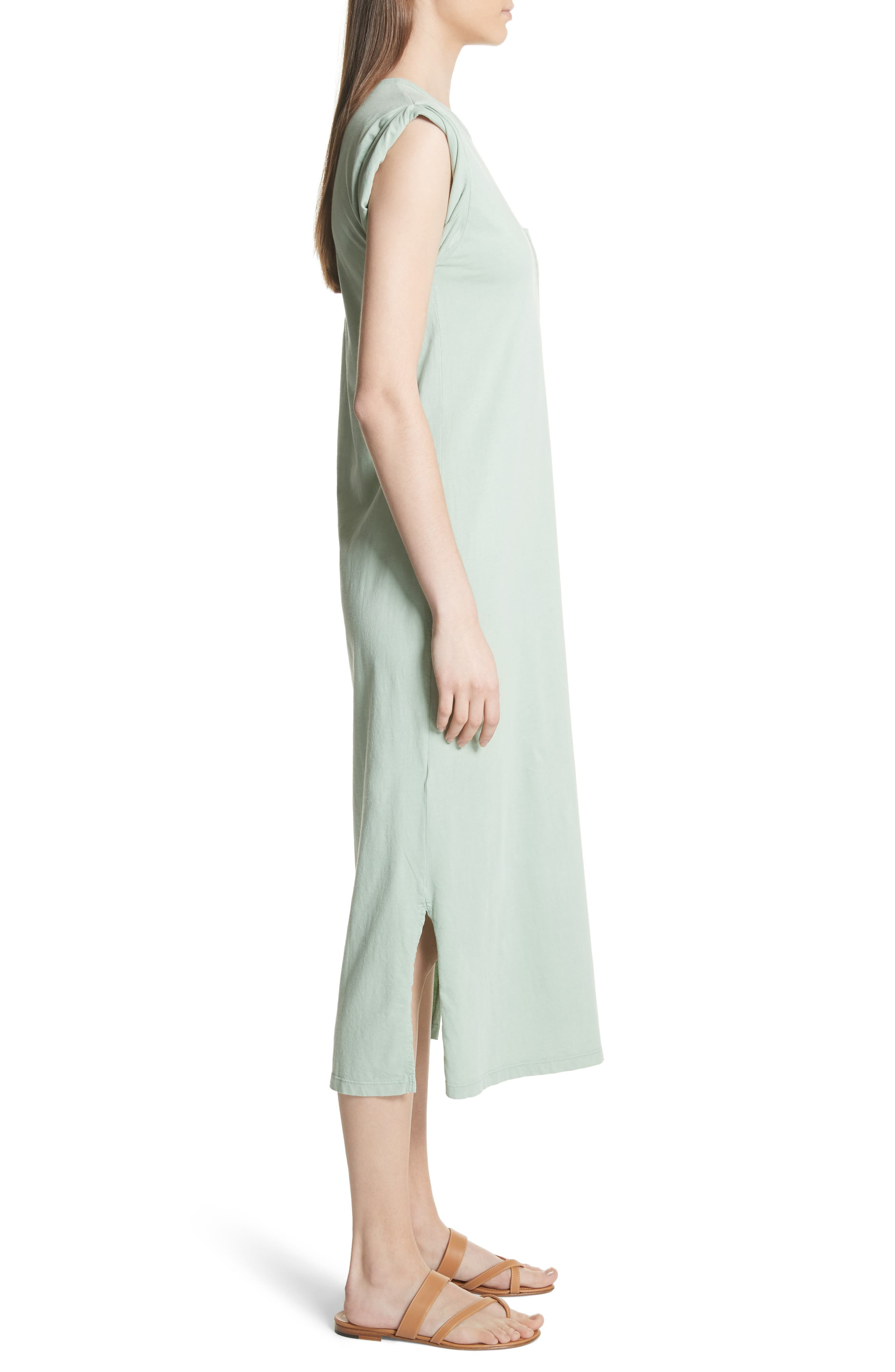 Muscle P Relaxed T-Shirt Dress,                             Alternate thumbnail 3, color,