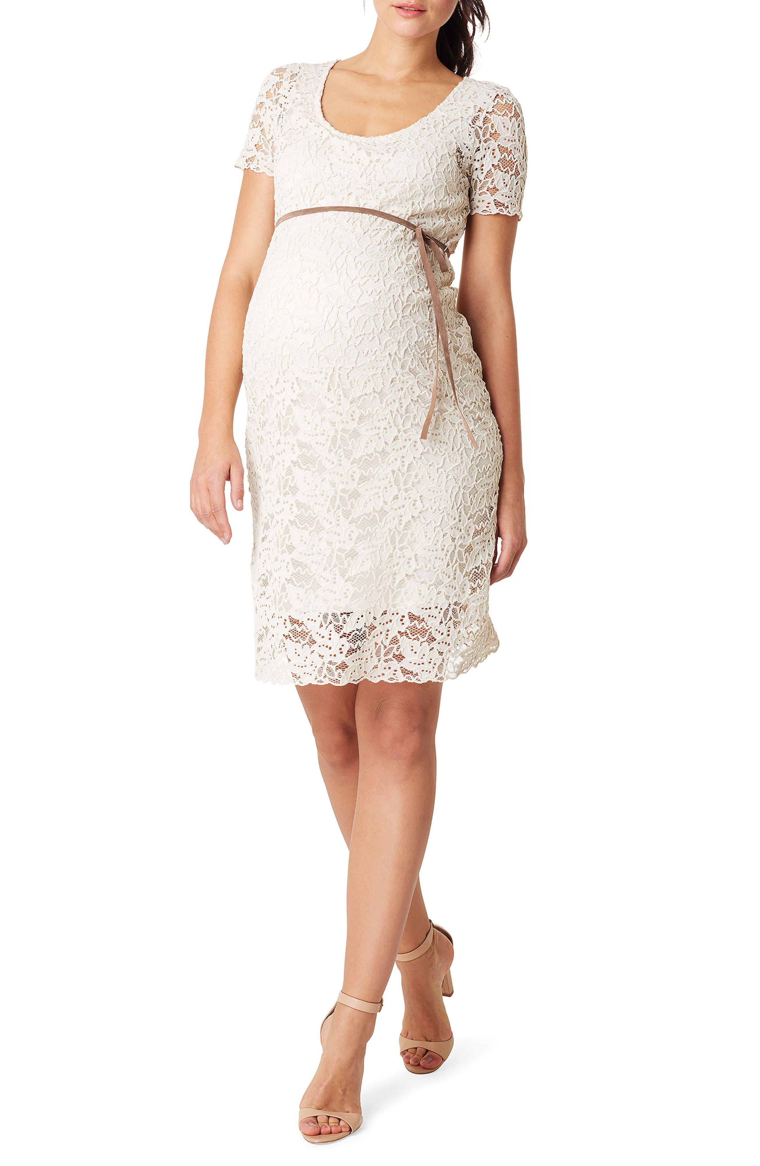 Celia Maternity Dress,                         Main,                         color, LIGHT SAND
