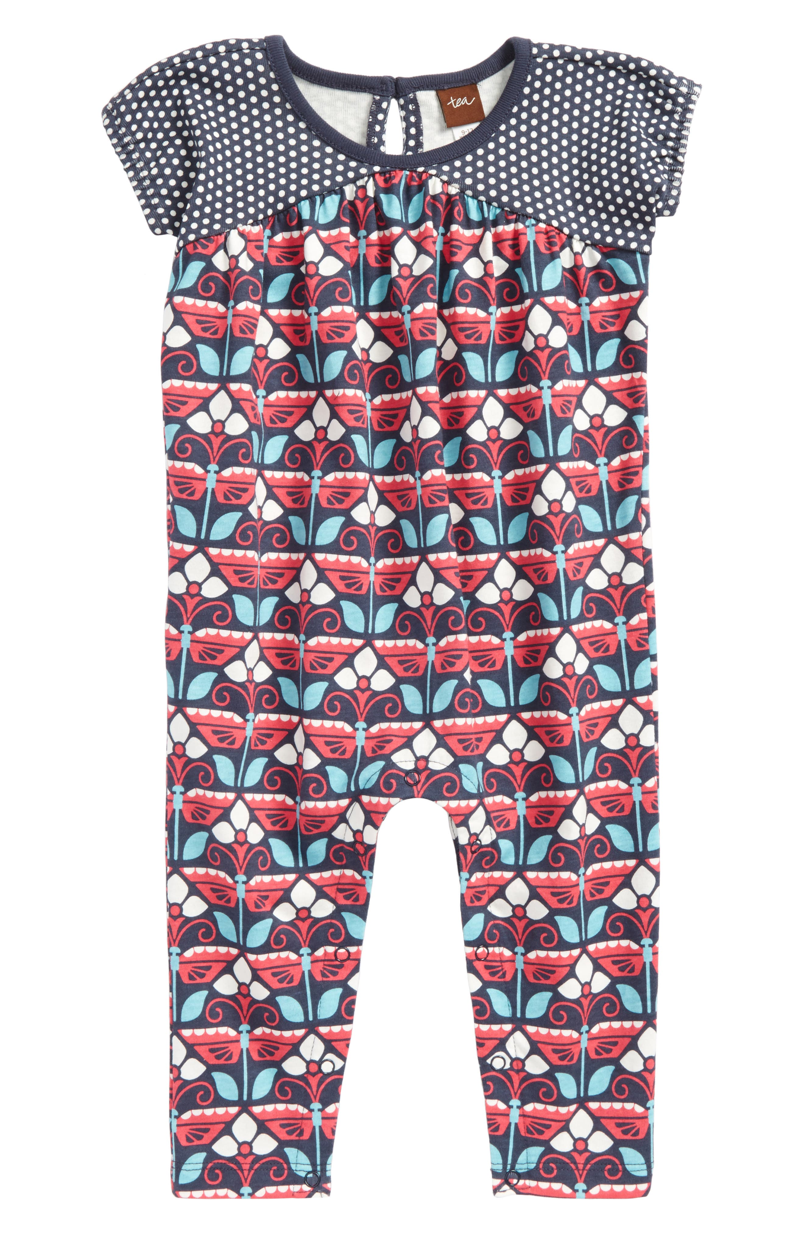 Kaleidoscope Romper,                             Main thumbnail 1, color,                             411