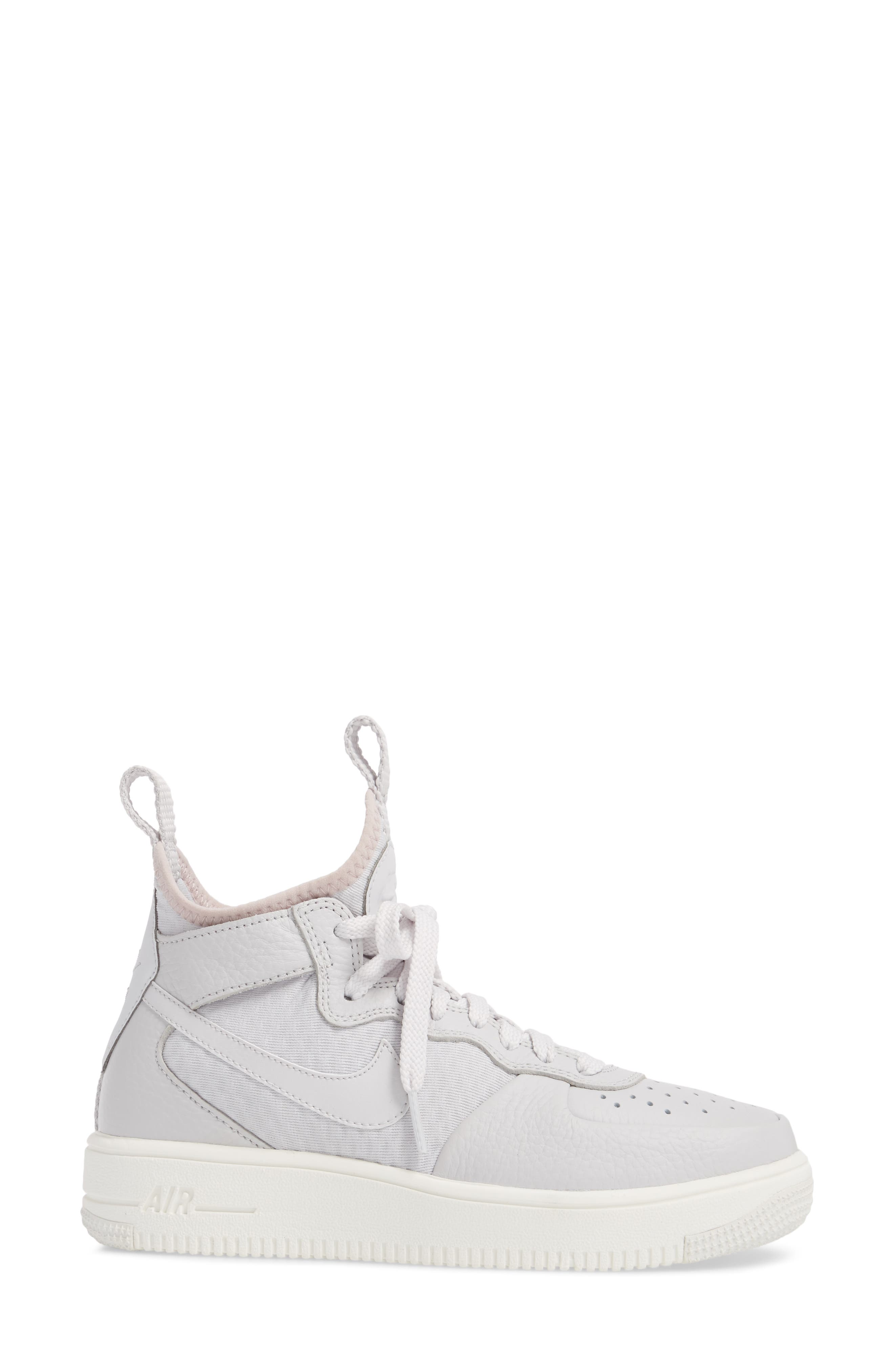Air Force 1 Ultraforce Mid Sneaker,                             Alternate thumbnail 6, color,
