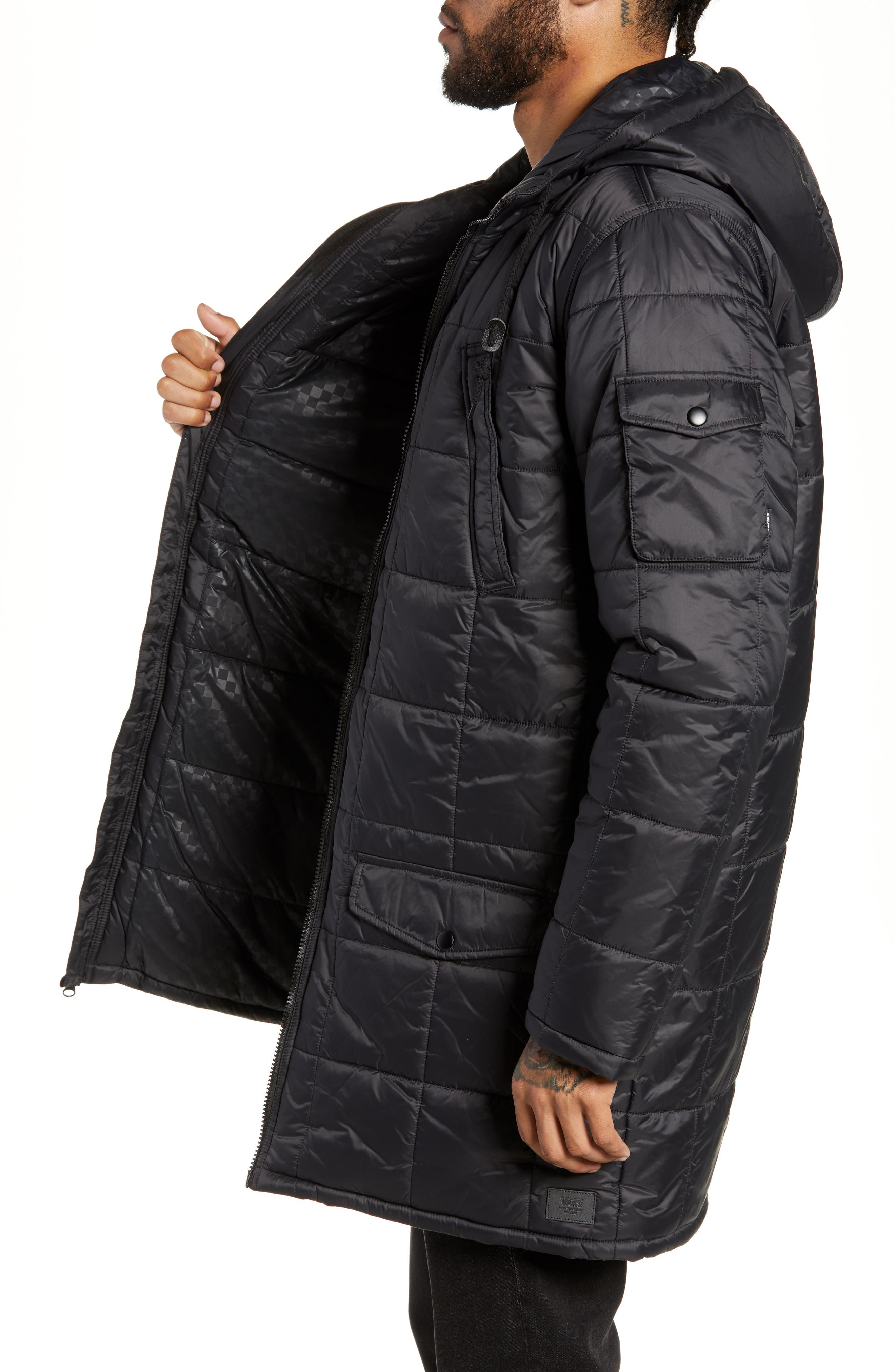 Providence MTE Quilted Jacket,                             Alternate thumbnail 3, color,                             001