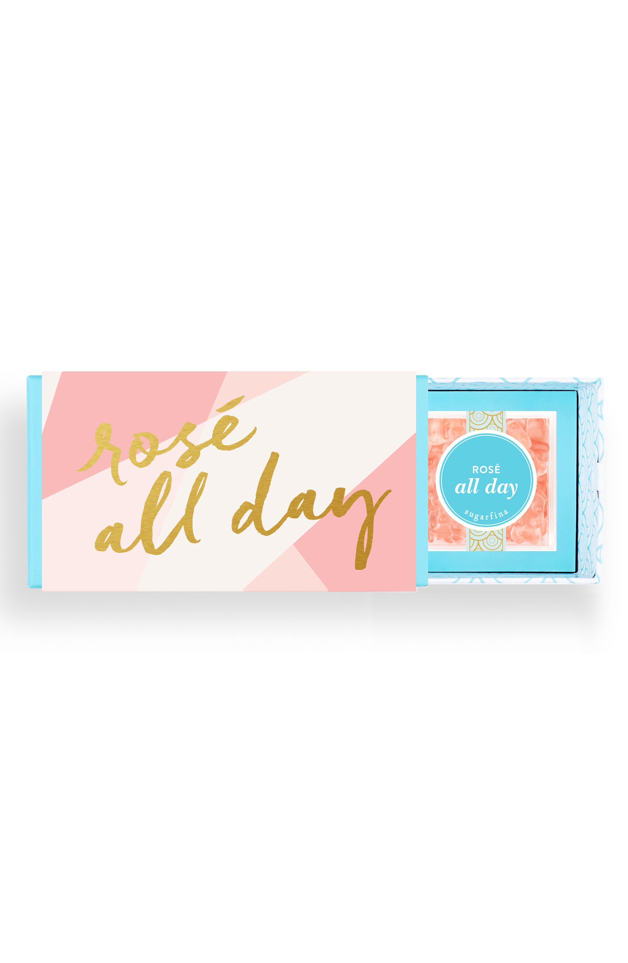 Rosé All Day Candy Bento Box,                             Main thumbnail 1, color,                             650